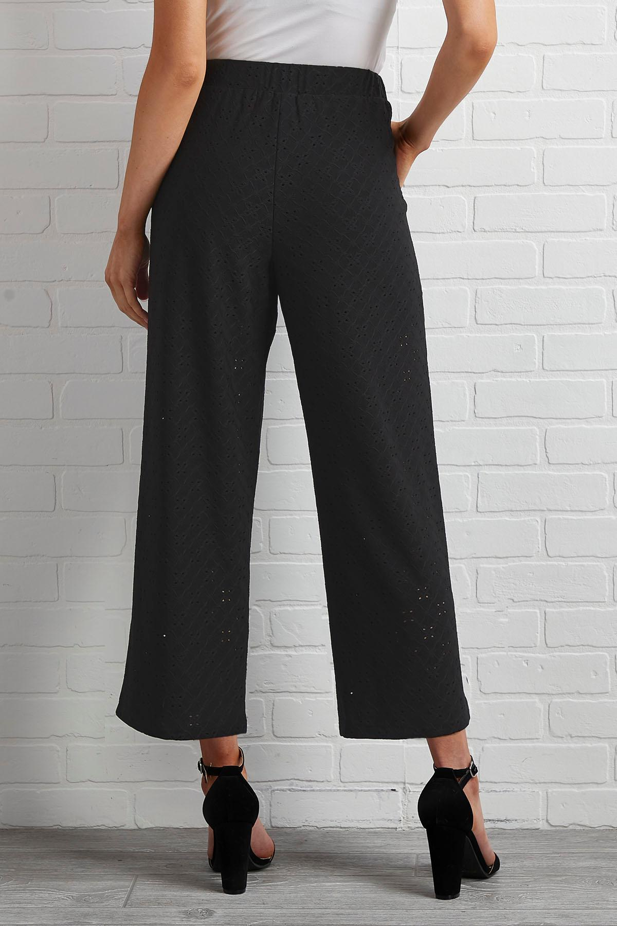 Pretty Little Things Cropped Pants