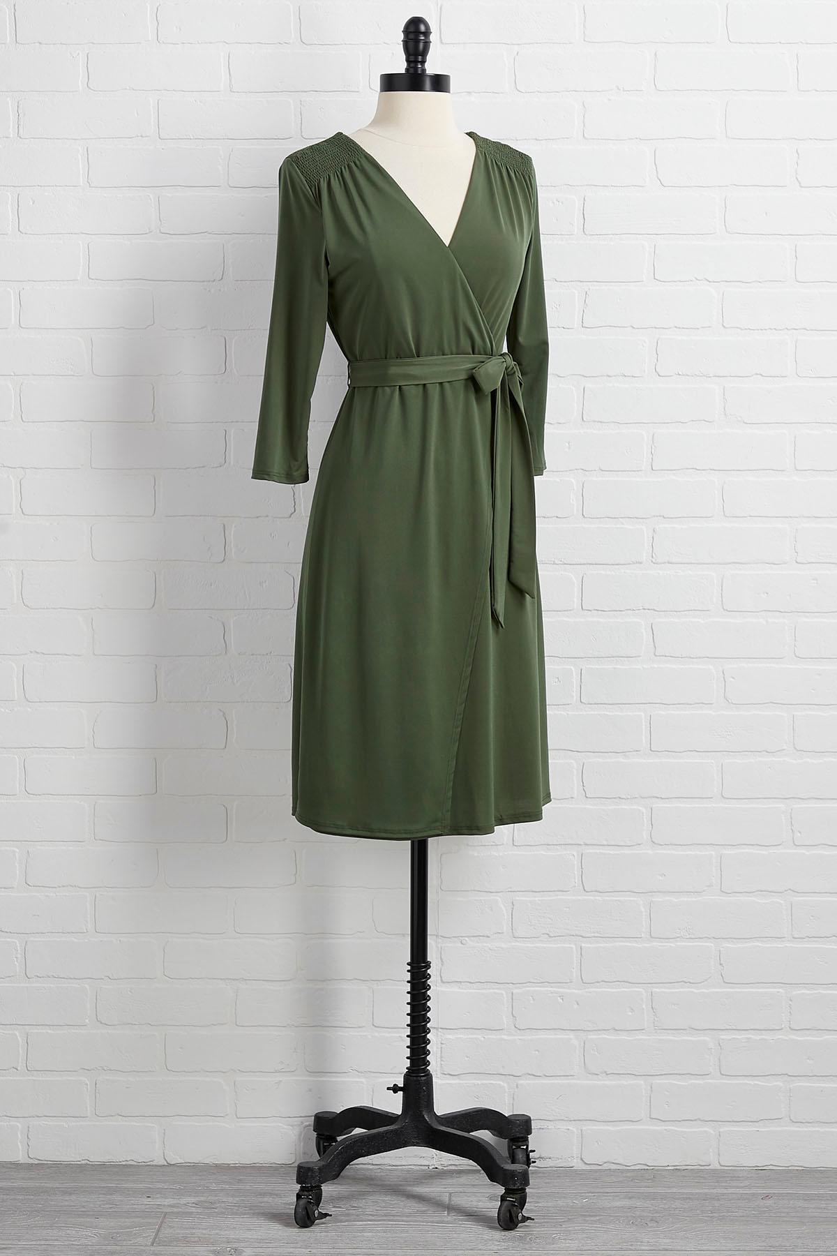 Love Me Wrap Dress
