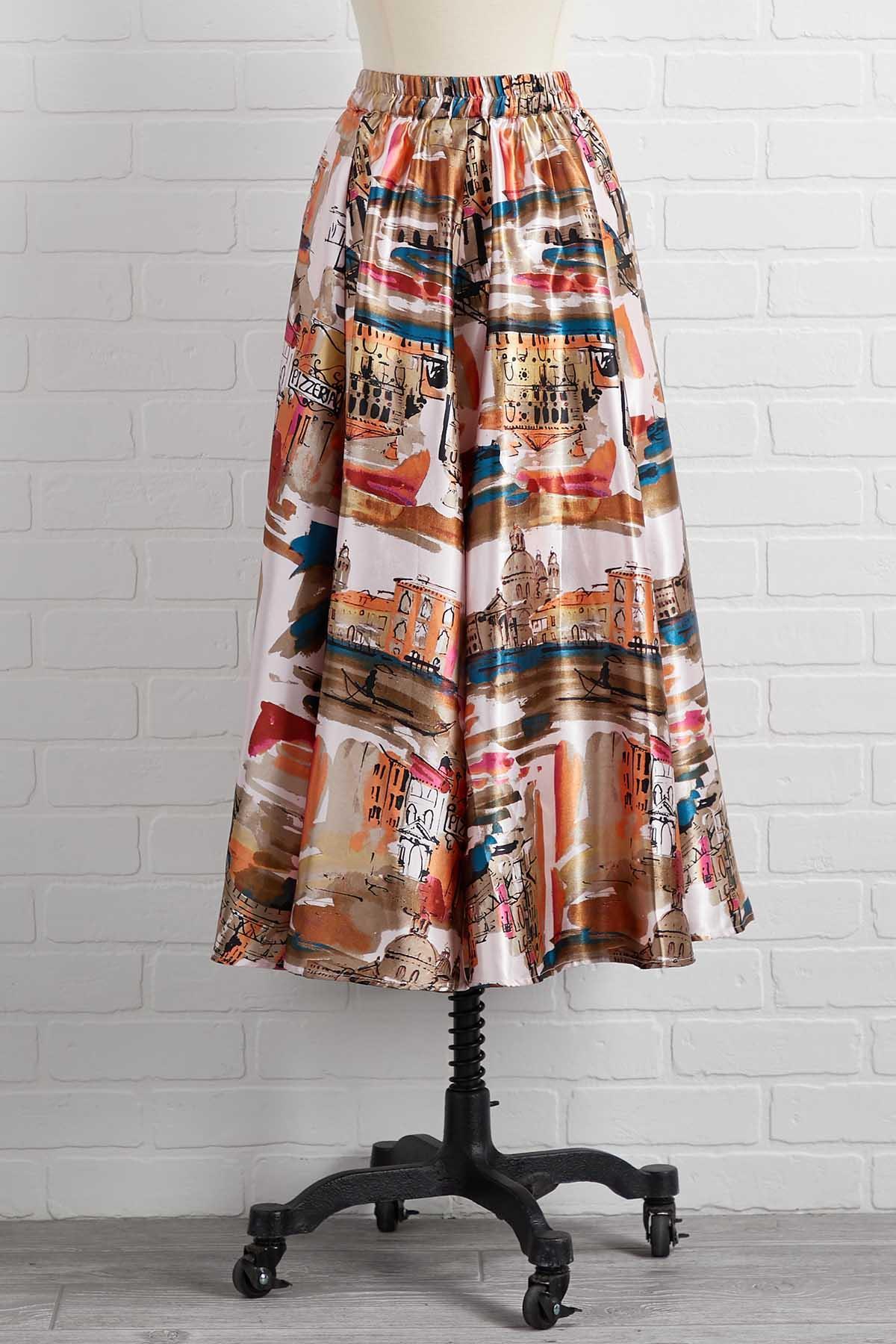 La Vie En Rose Skirt