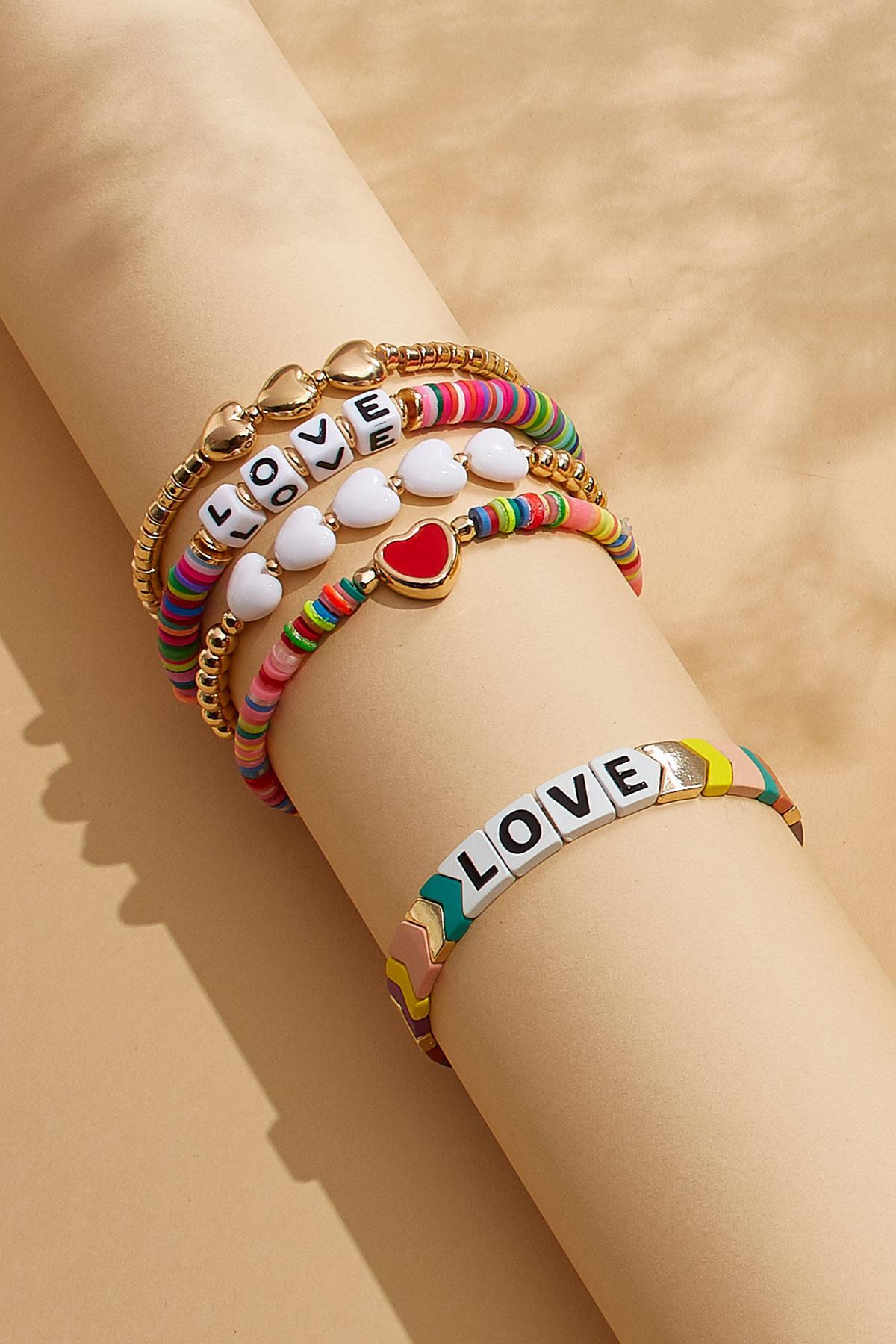 Love Stretch Bracelet