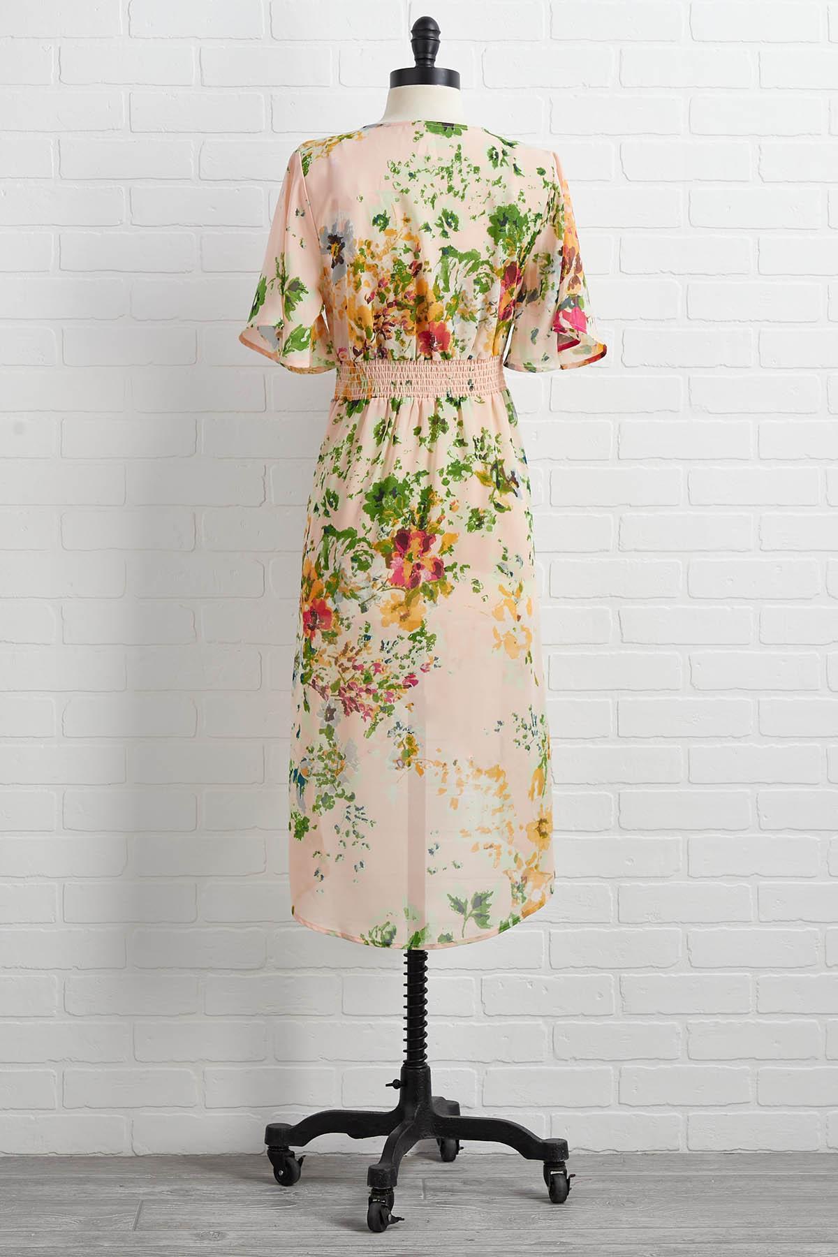 Flower Power Kimono