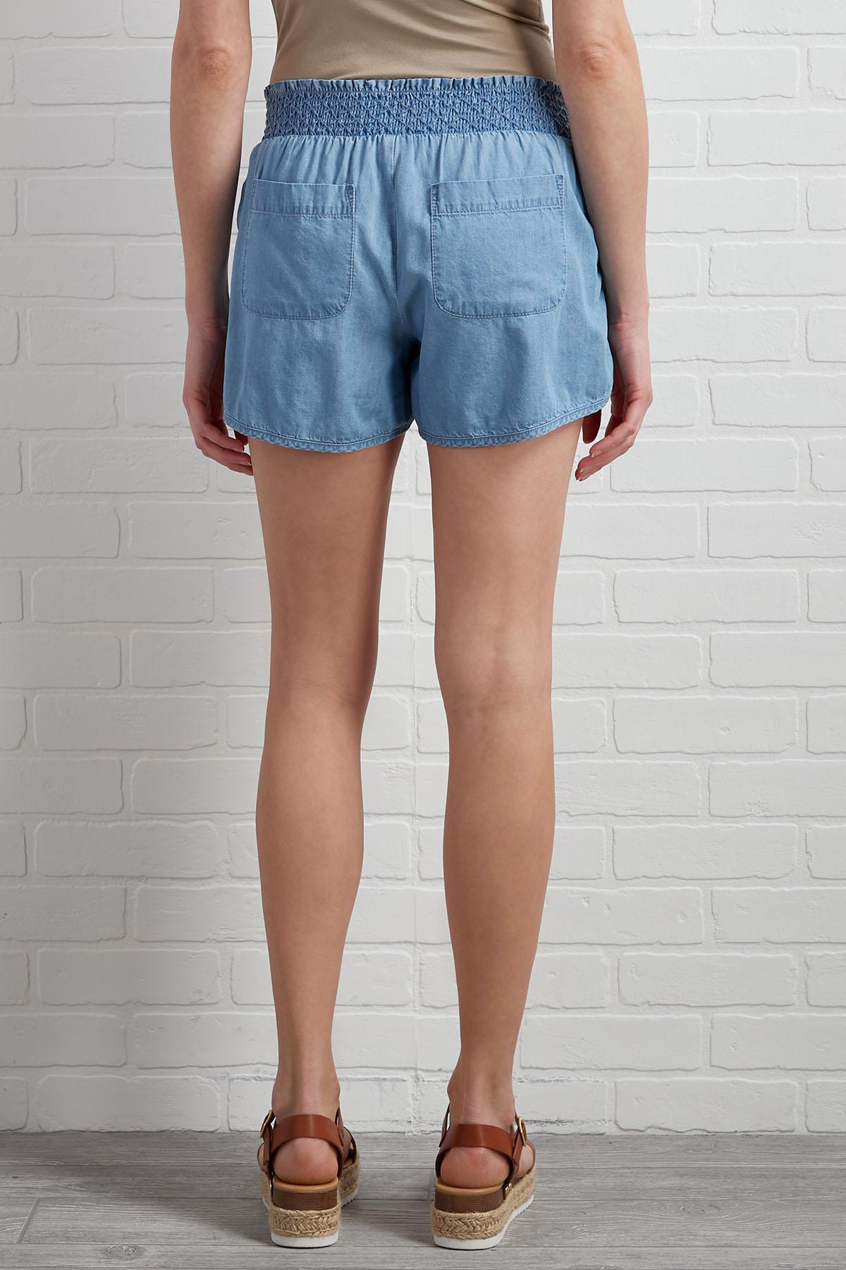Chambray Campaign Shorts