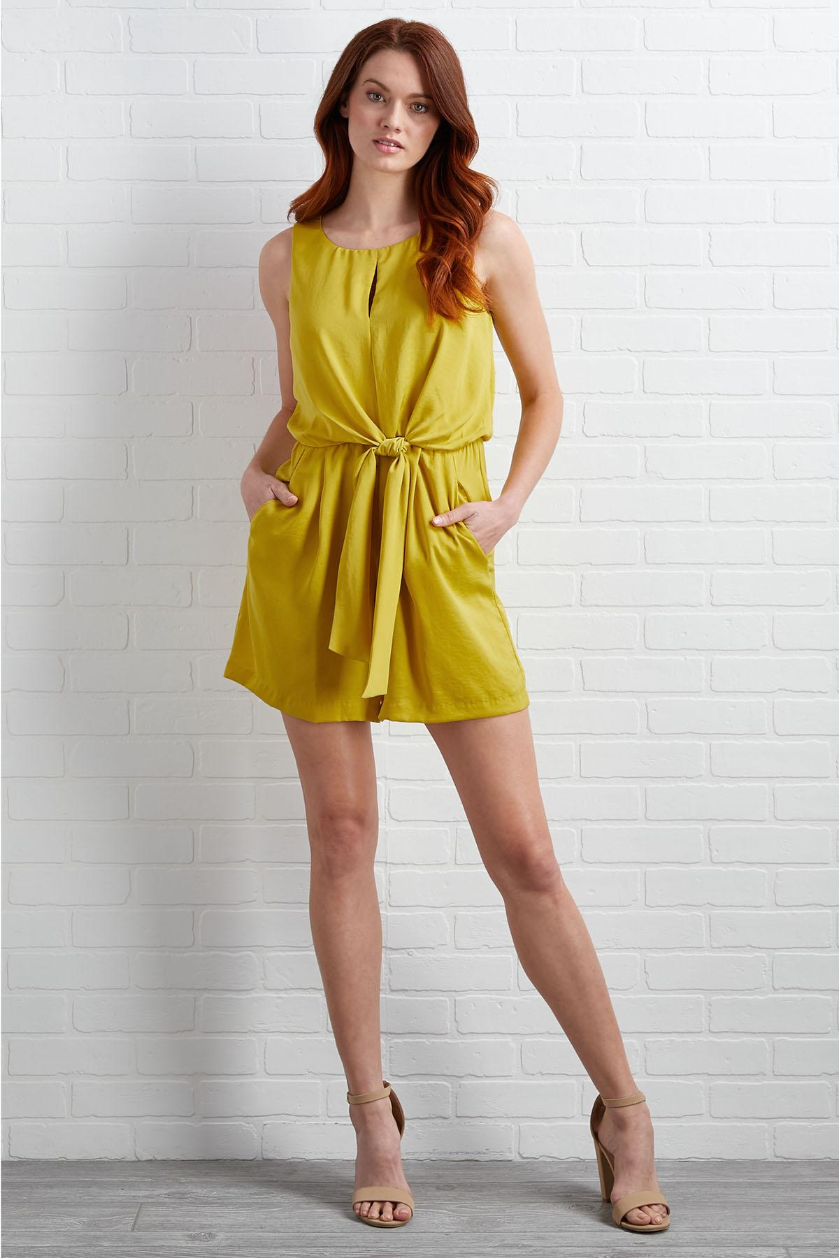 Lime In The Coconut Romper