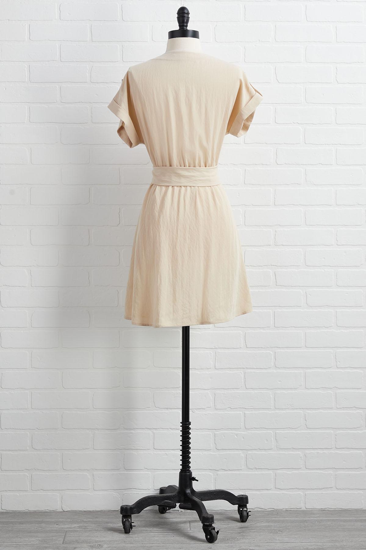Shape Of Utility Dress