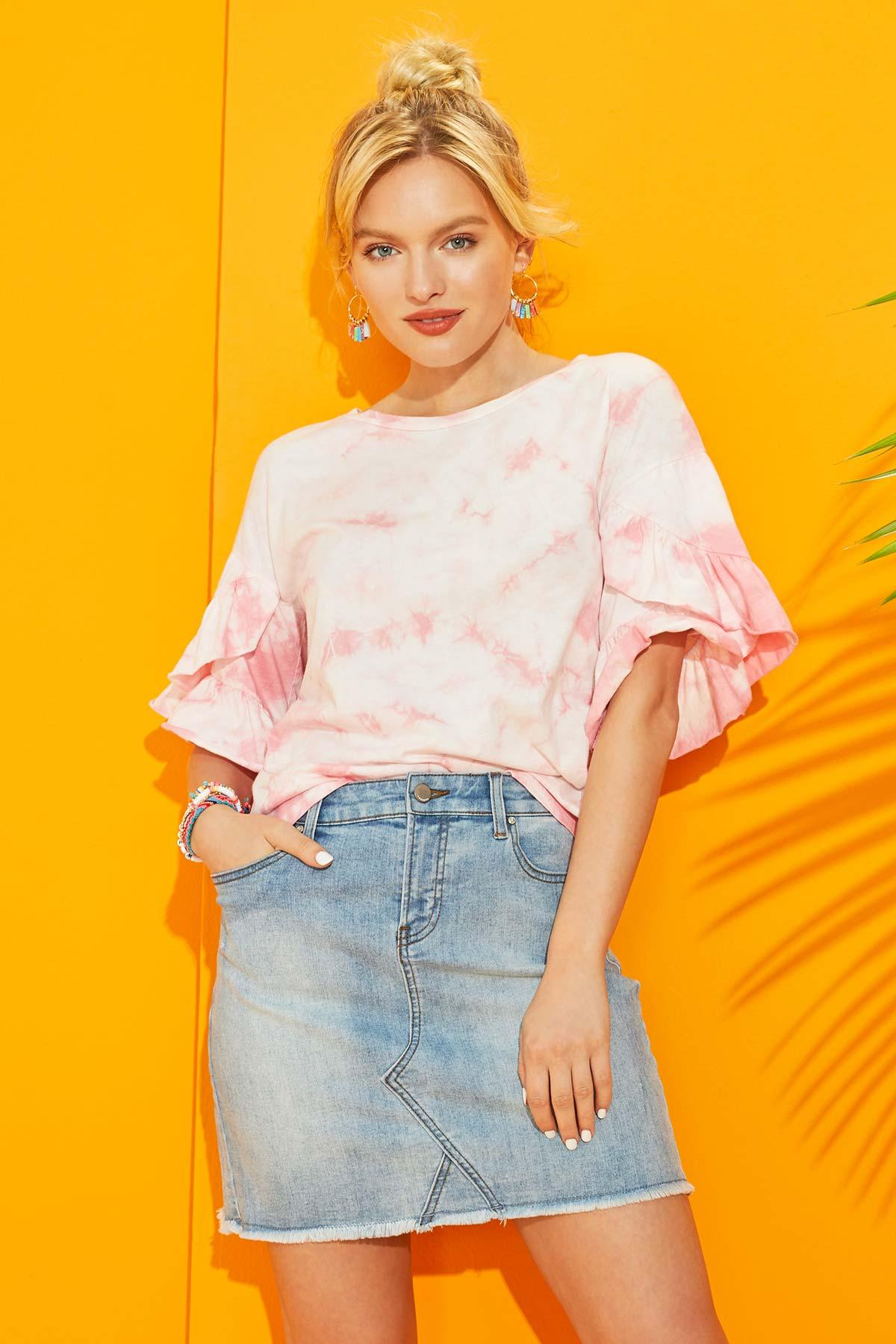 Frills And Thrills Top