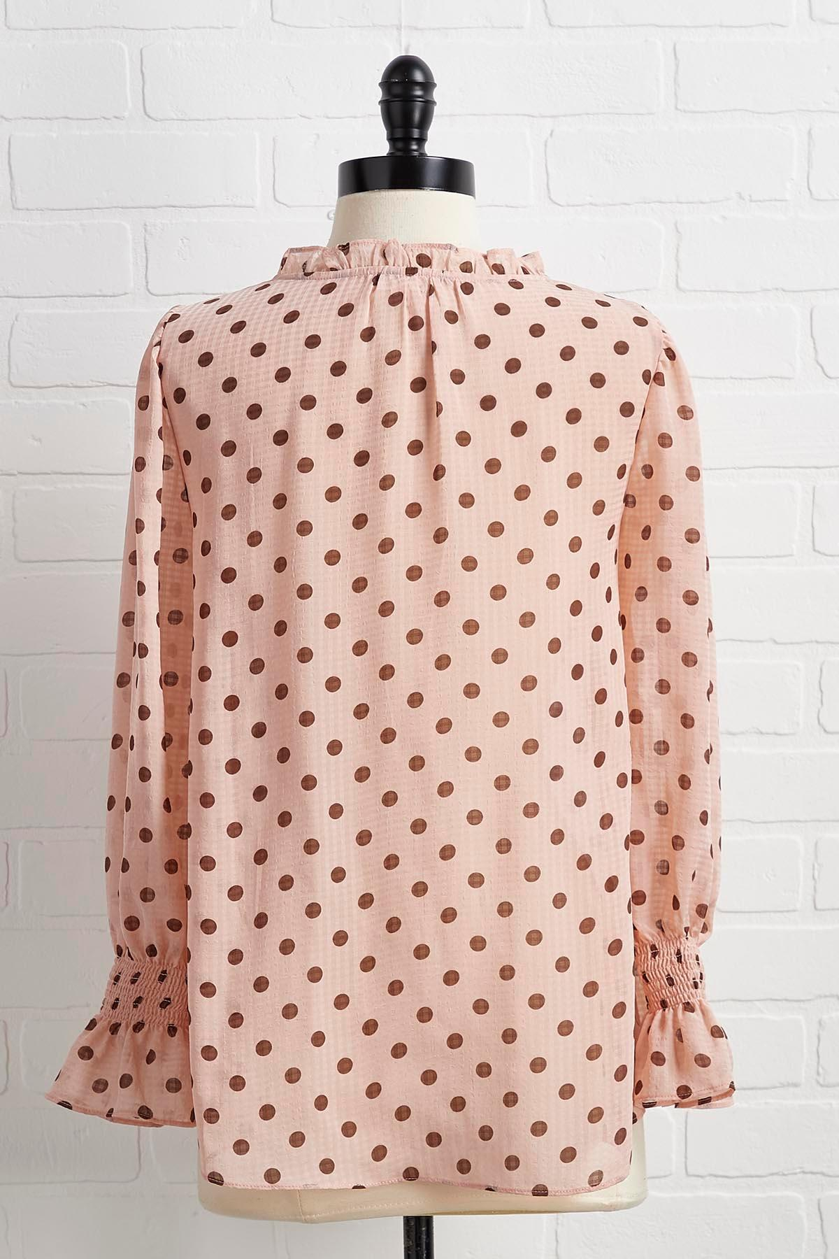 Dots Of Love To Give Top
