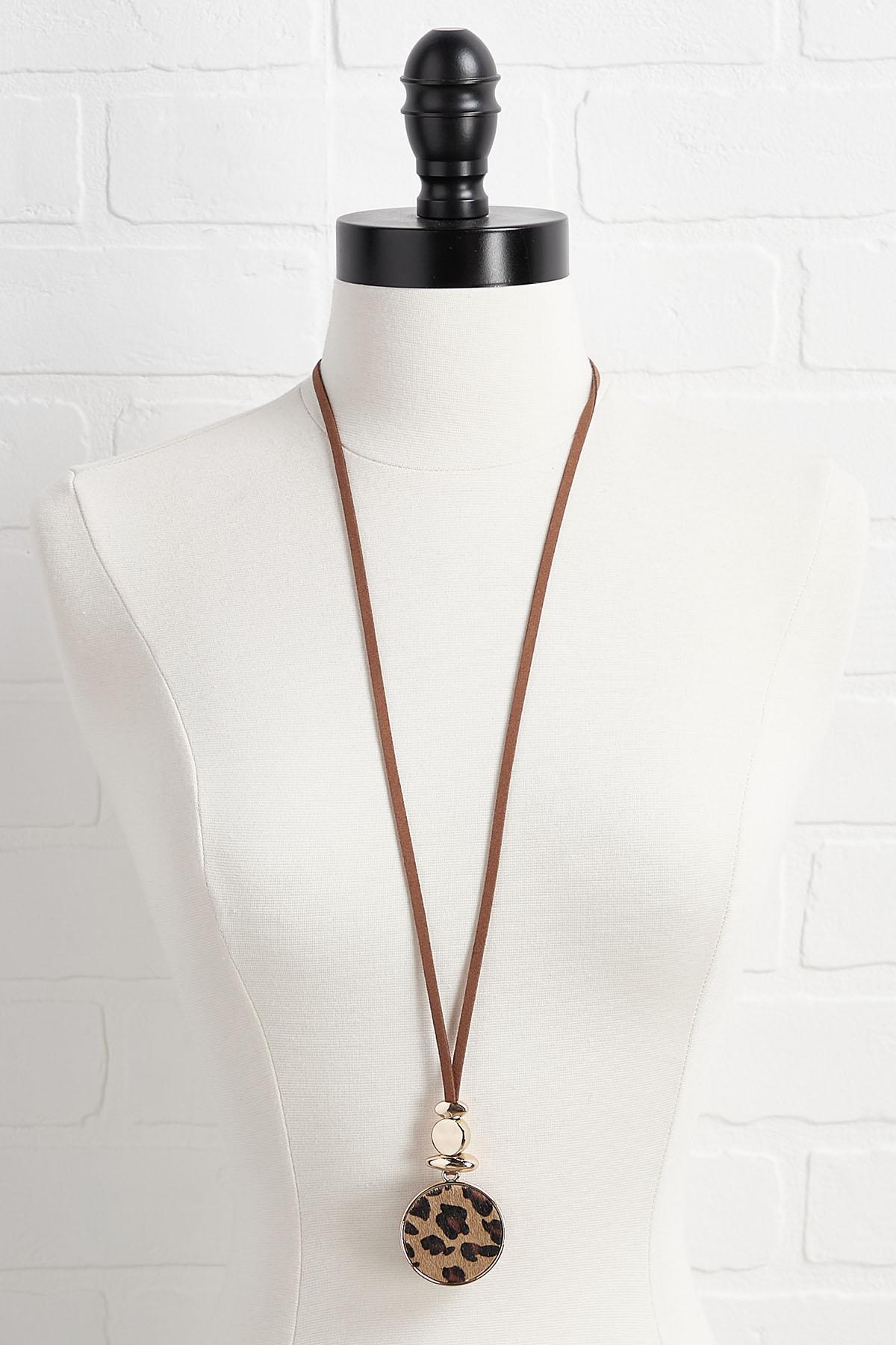 Golden Leopard Necklace