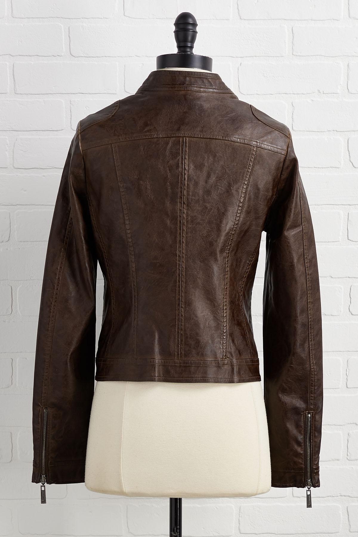In Faux A Good Time Jacket