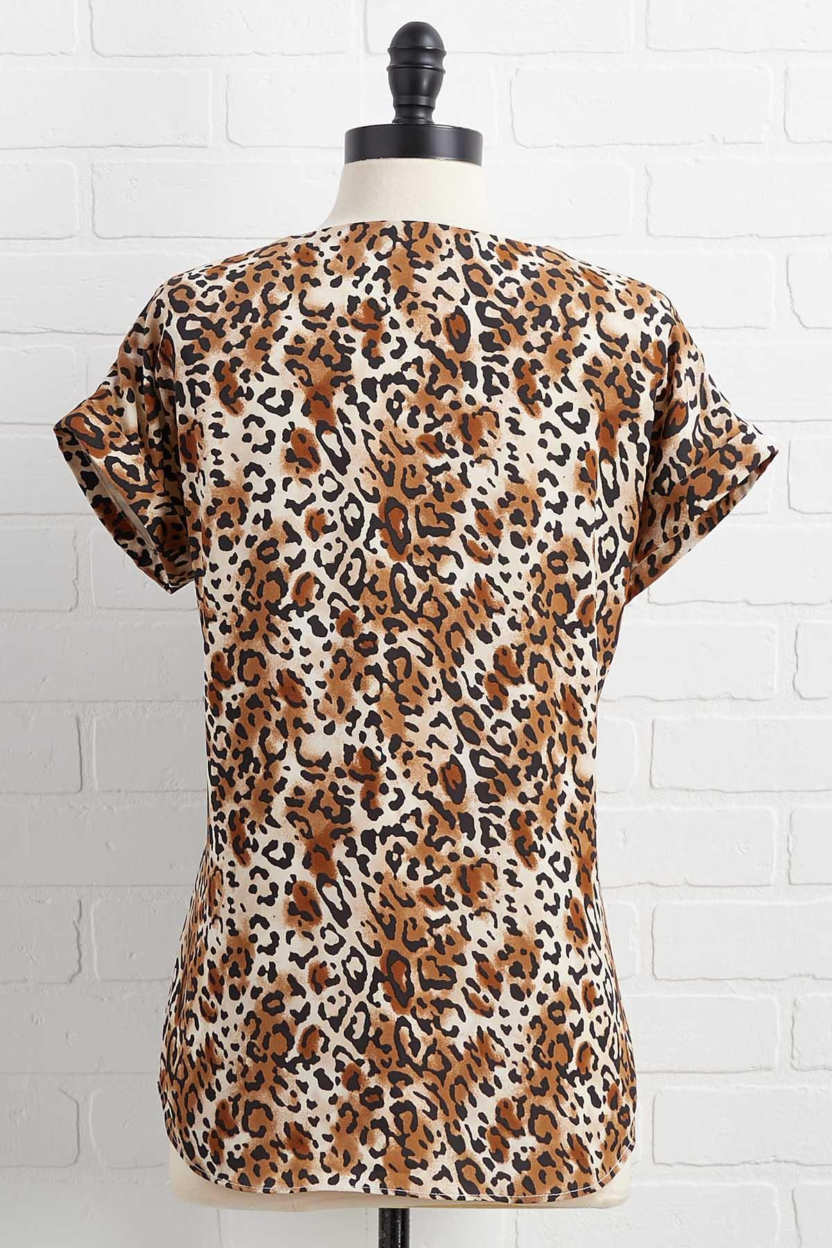 Tiger Queen Top