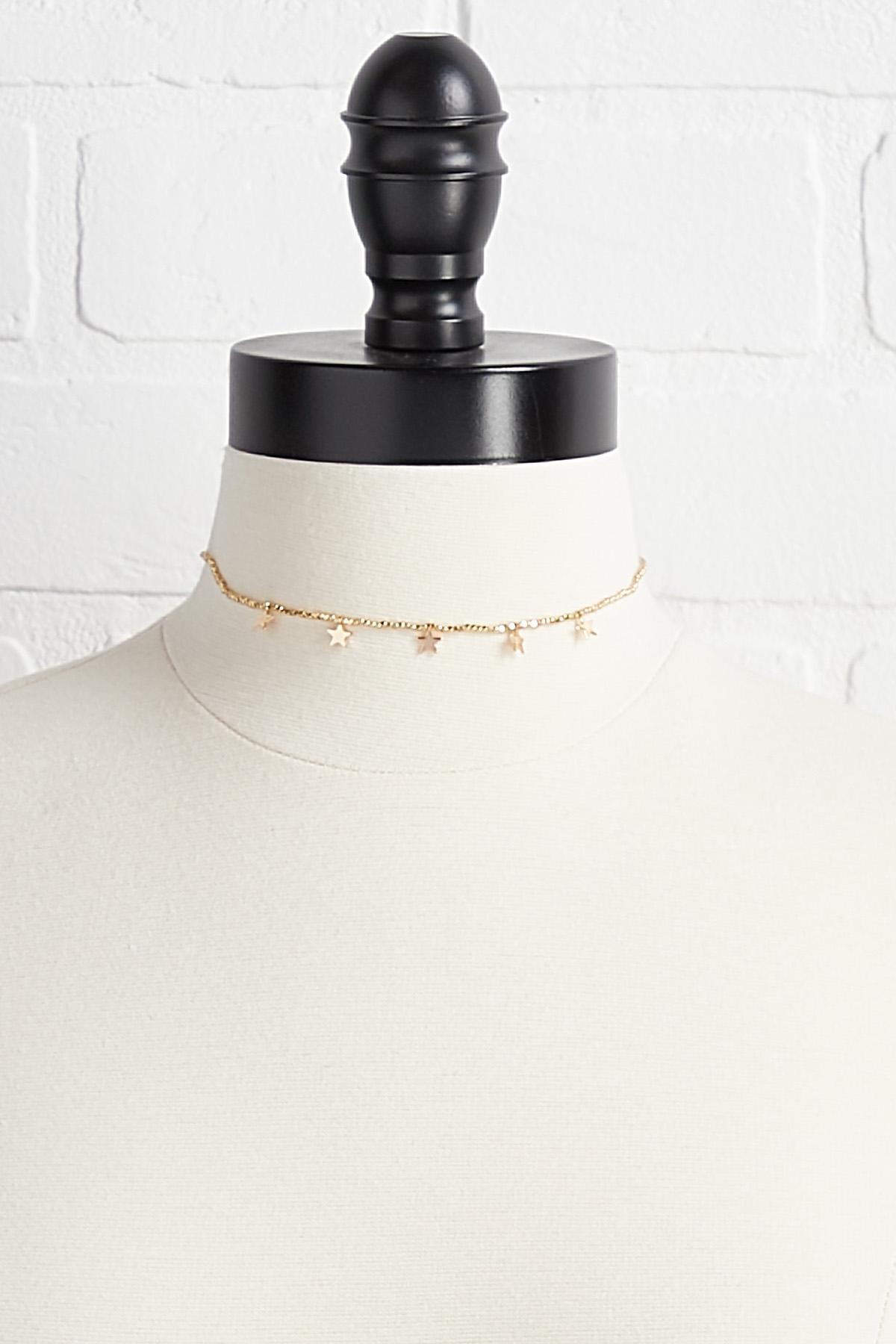 Star Choker Necklace