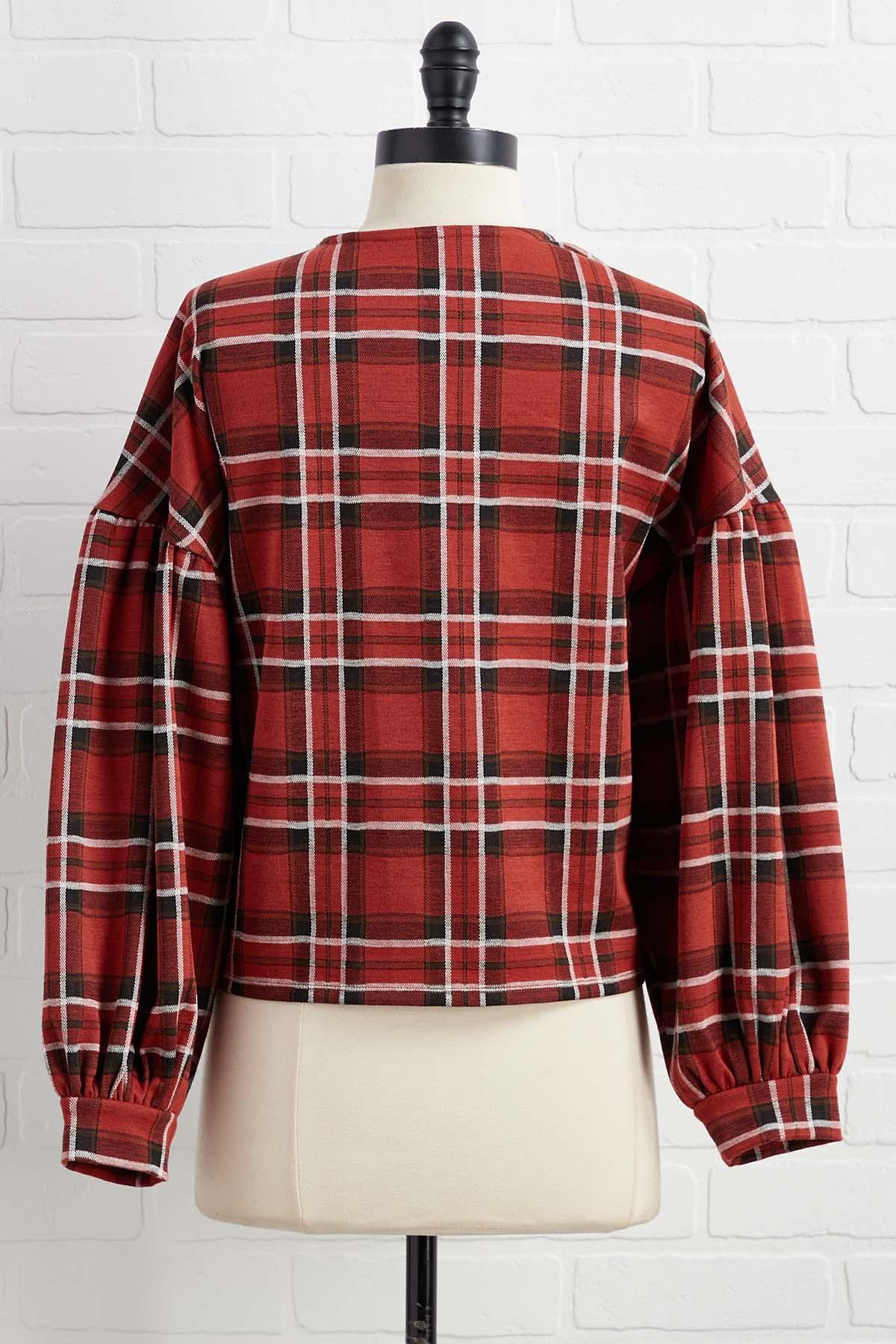Don ` T Be Plaid At Me Top