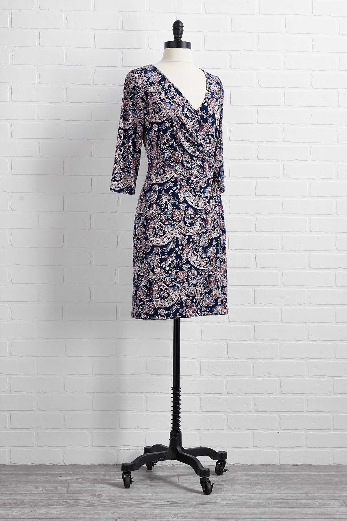 Midnight Blue Sky Dress