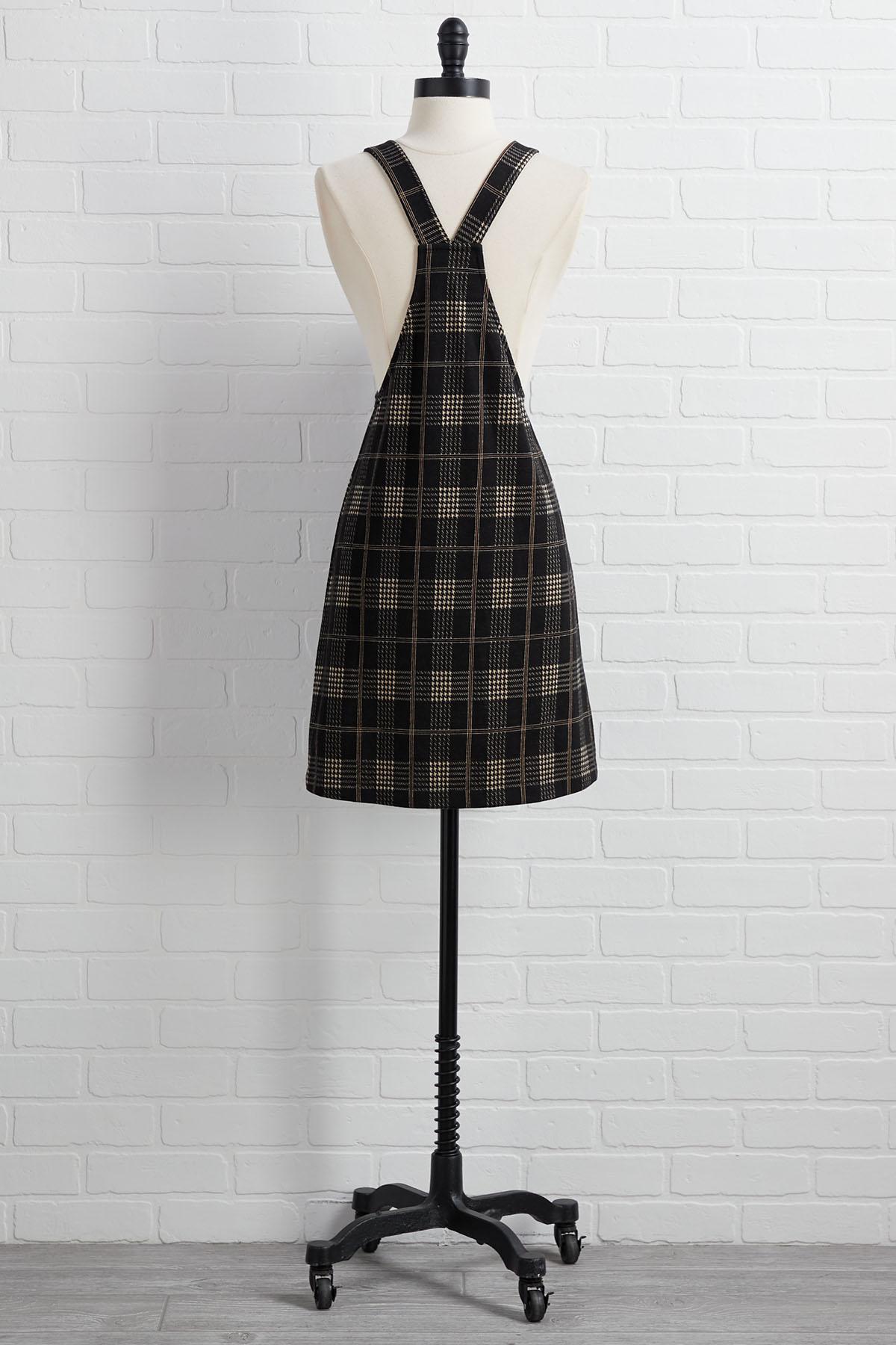 Game Well Plaid Dress