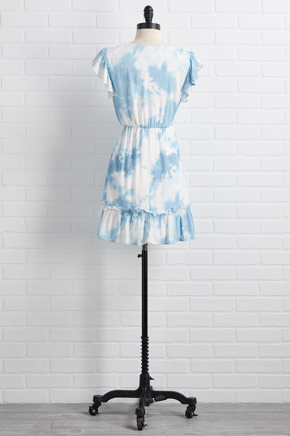 Blue Skies Smiling Dress