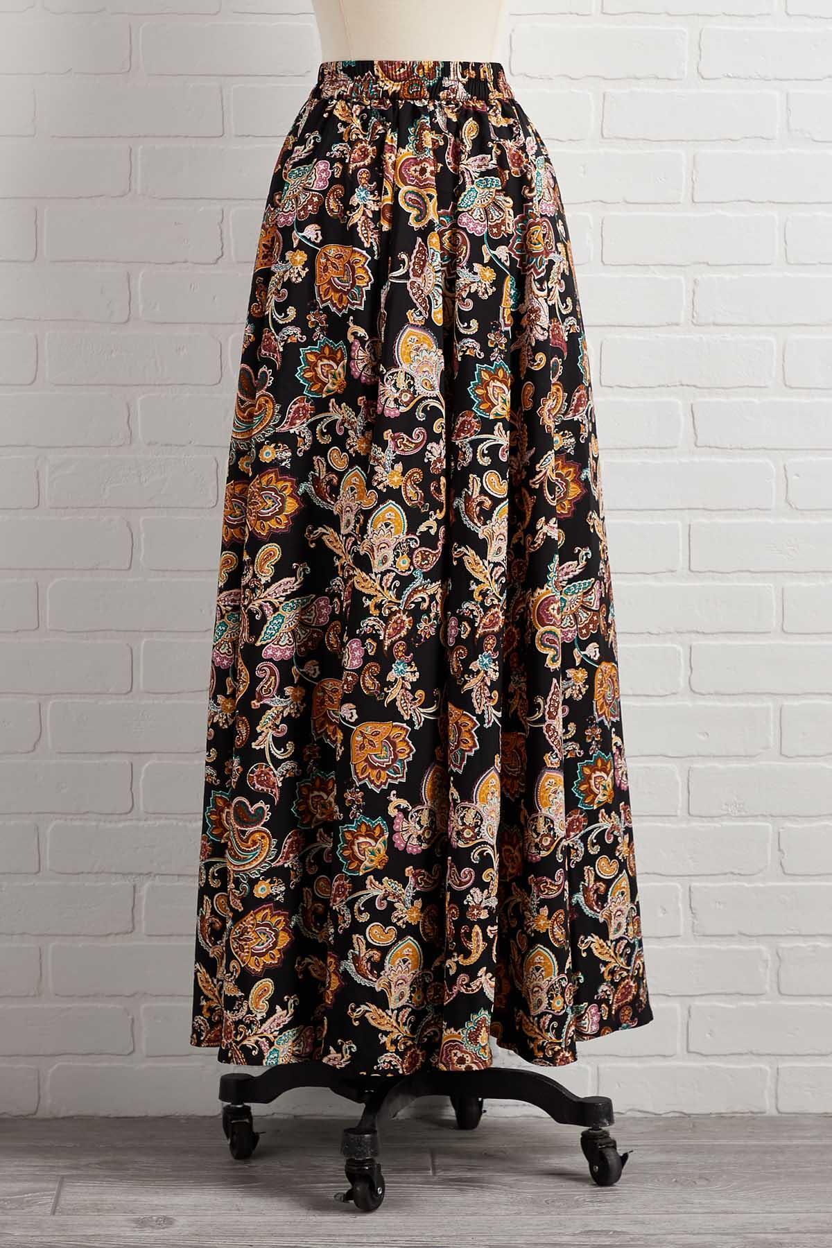 Fields Of Gold Maxi Skirt