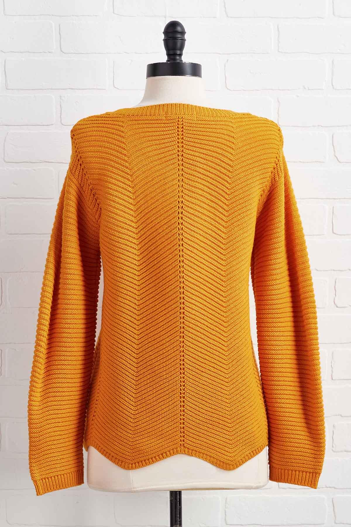 Golden Glow Sweater