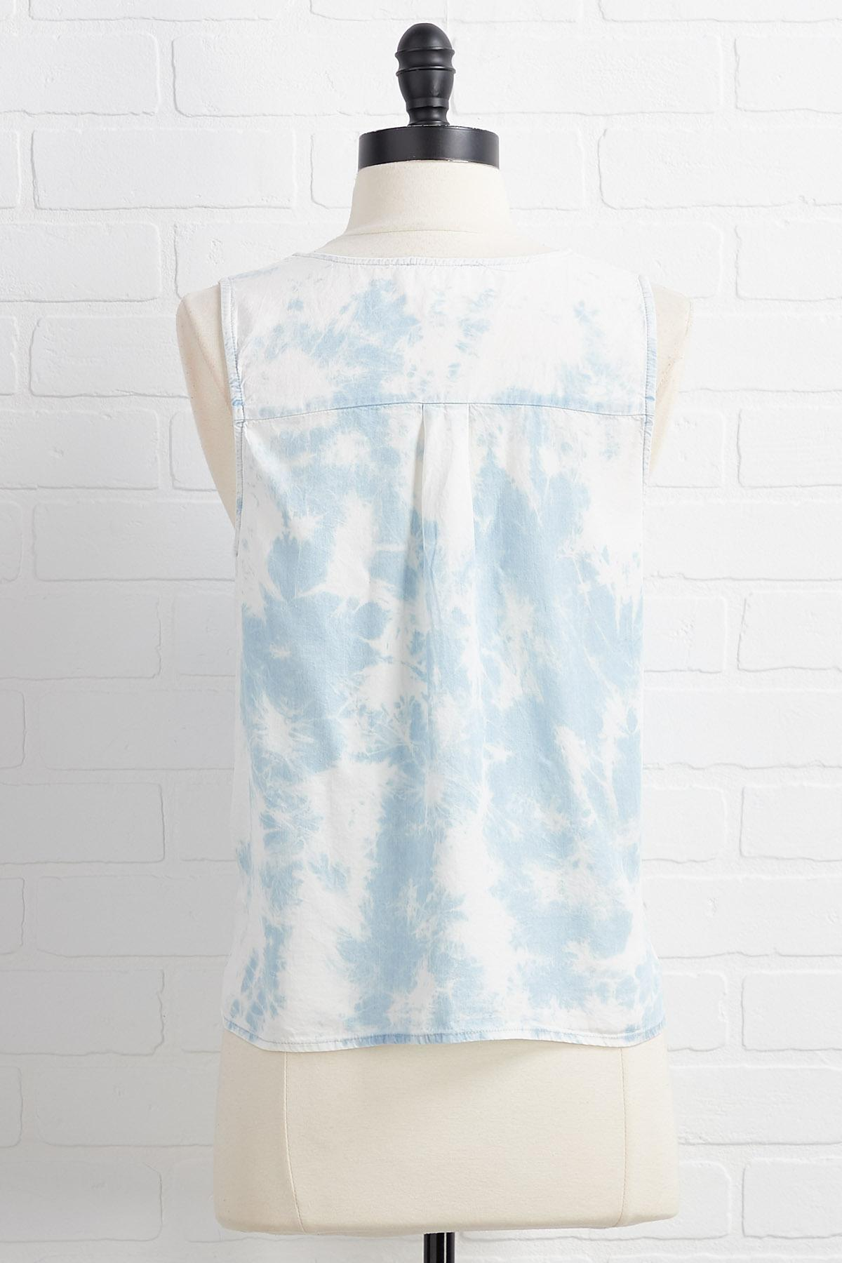 Lost In A Haze Top