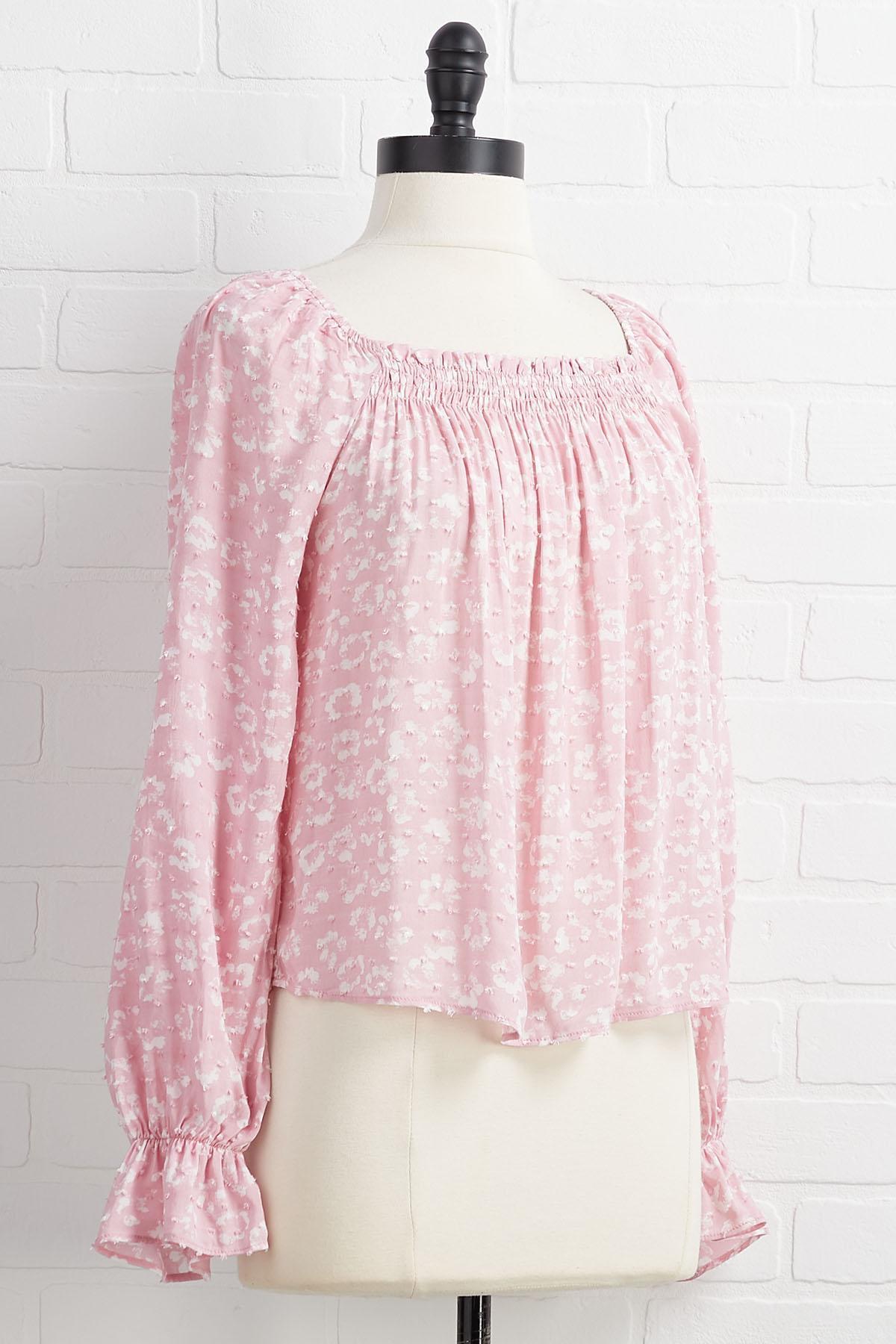 Wink At Pink Top