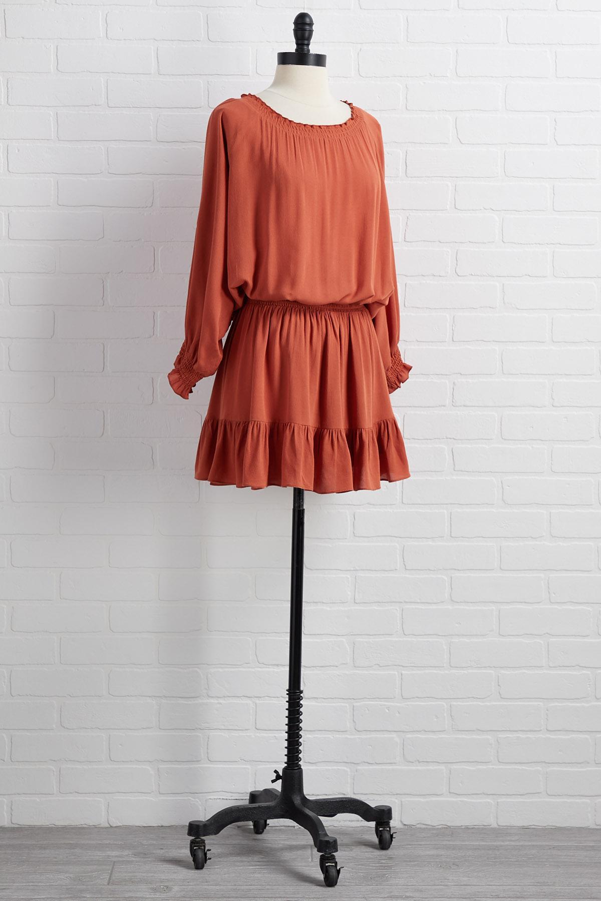 Tie It In A Boho Dress