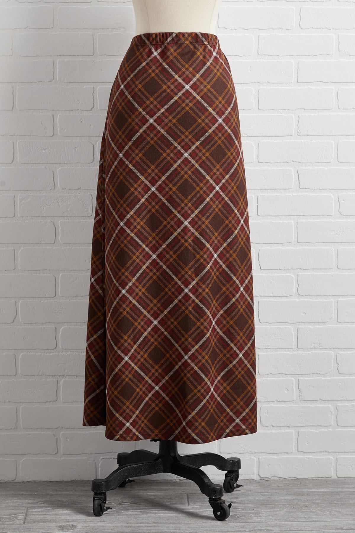 Fall Bliss Maxi Skirt