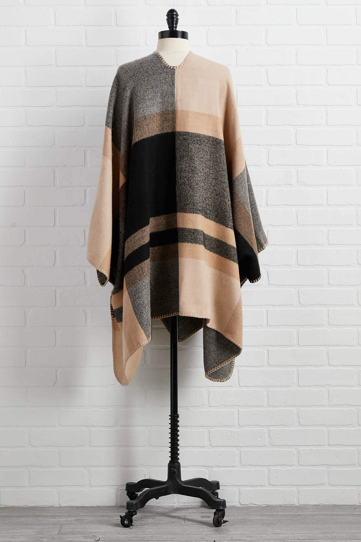 Iced Latte Poncho
