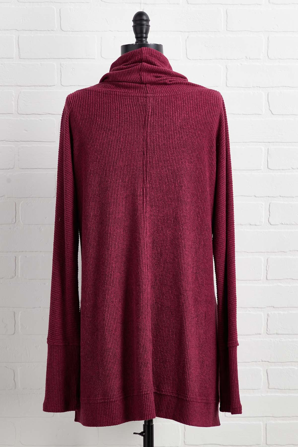 Here And Cowl Neck Top