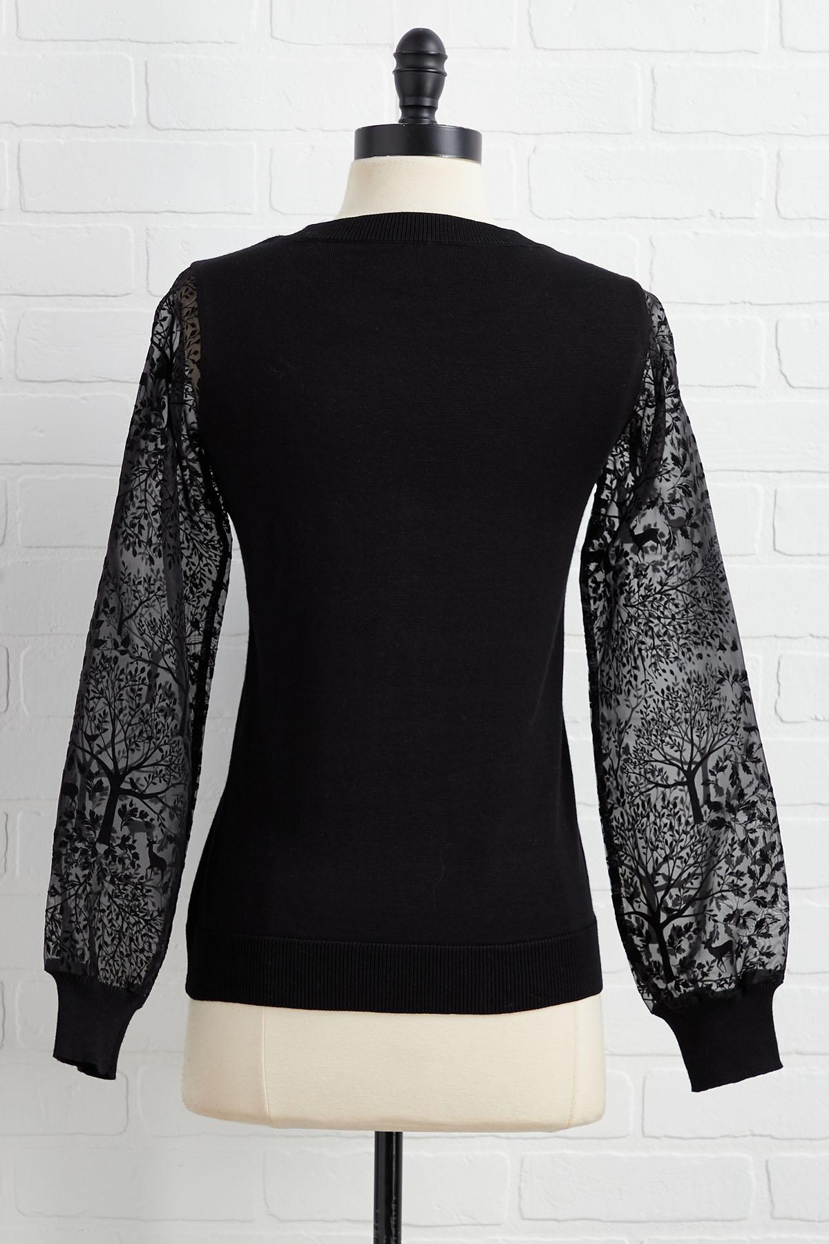Mesh With Me Top