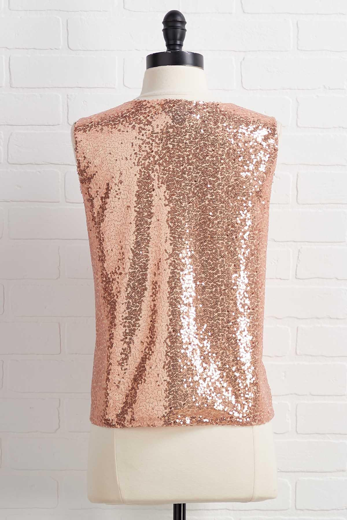 Do As You ` Re Rose Gold Top