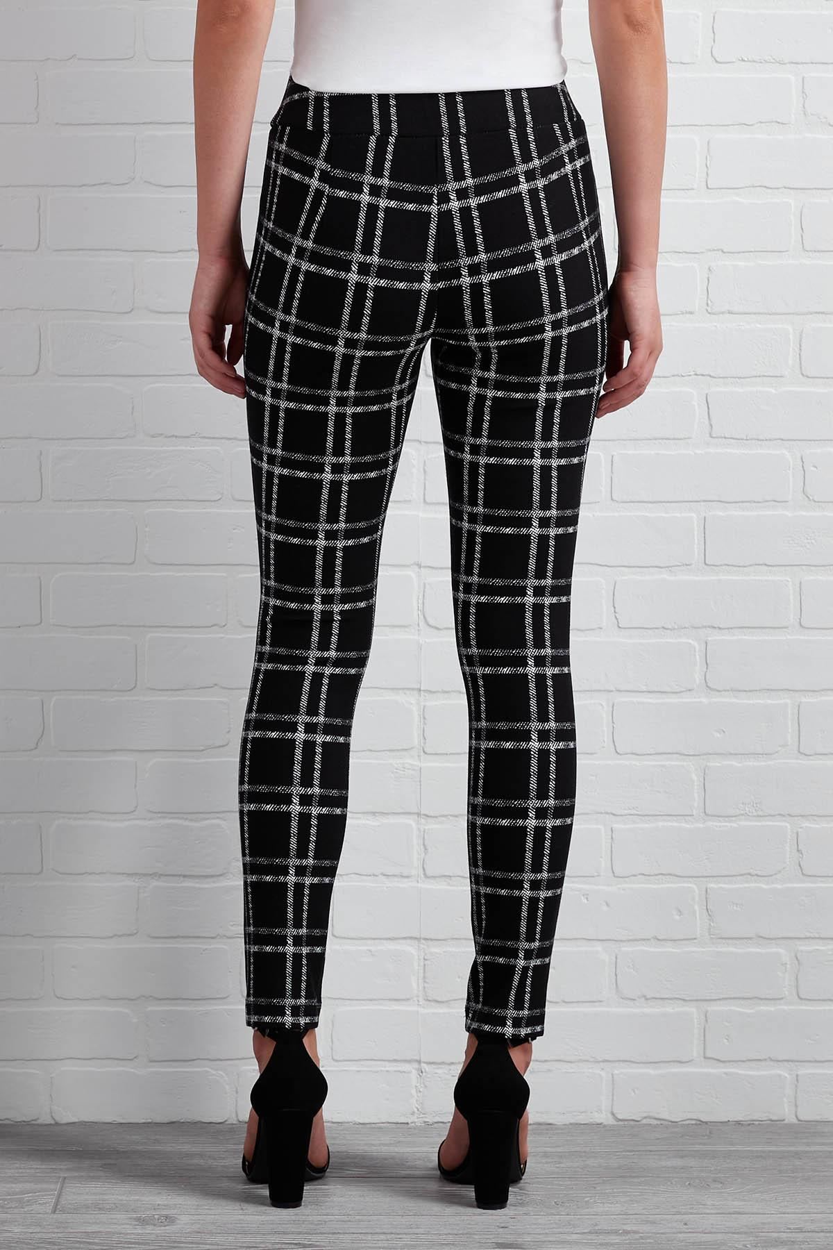 Don ` T Get Plaid About It Leggings