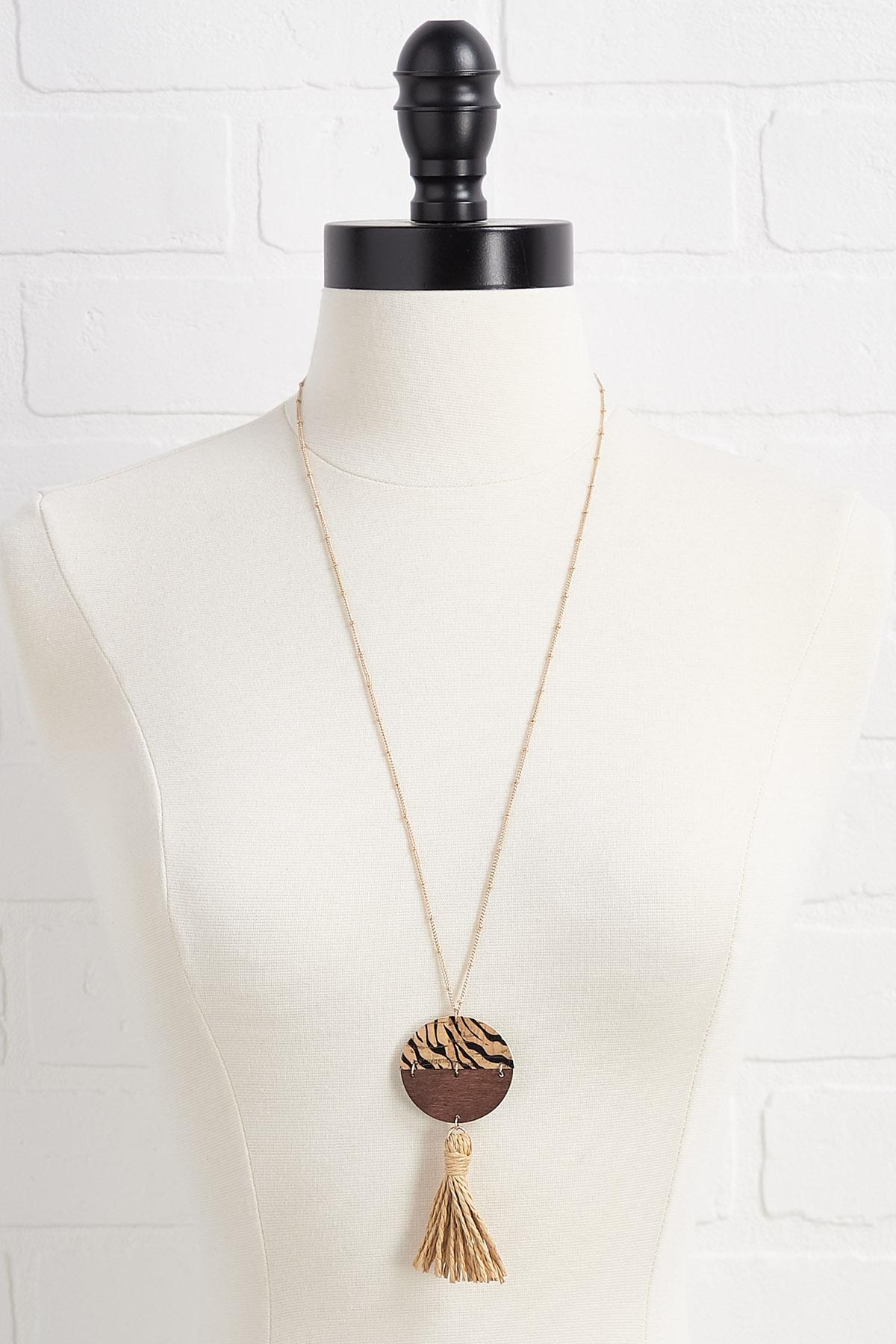 Tiger Queen Necklace