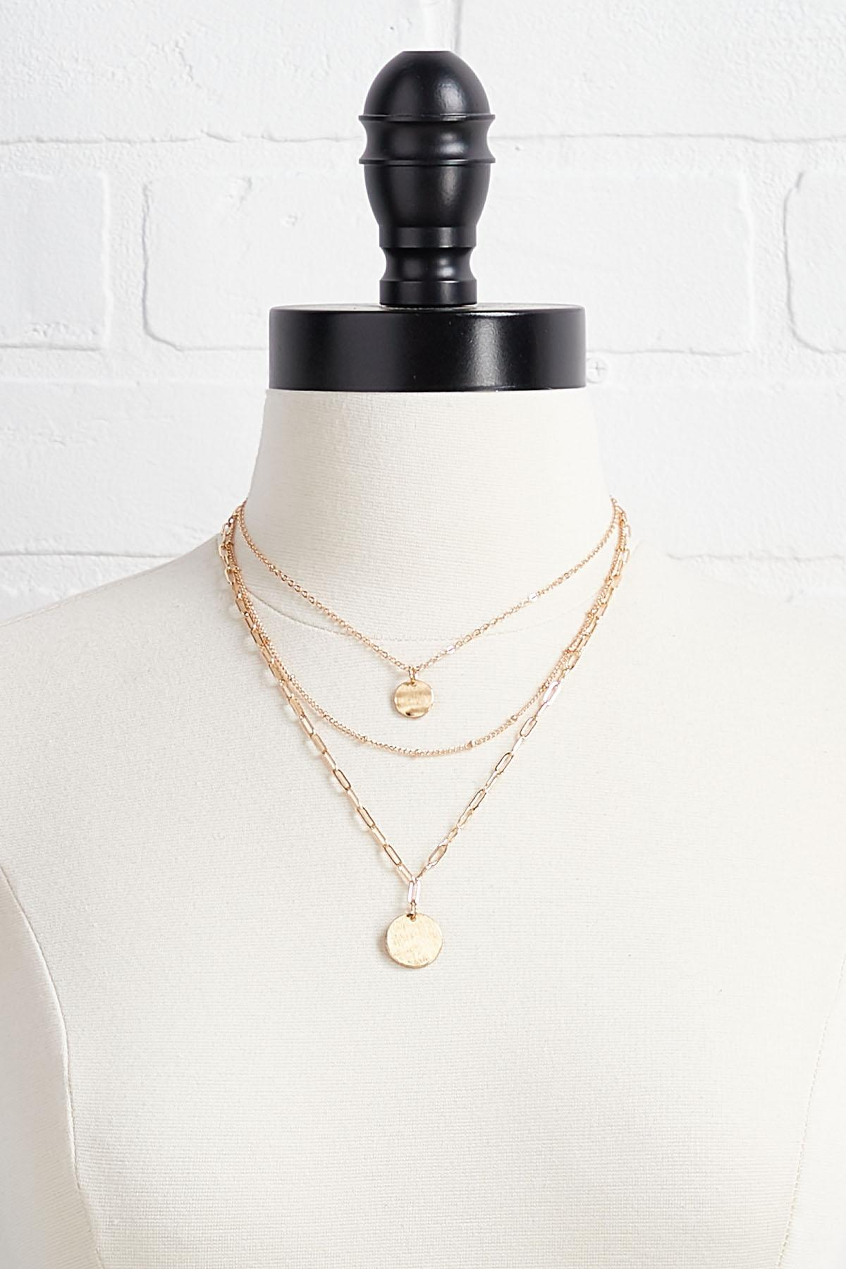 Chain And Charm Necklace