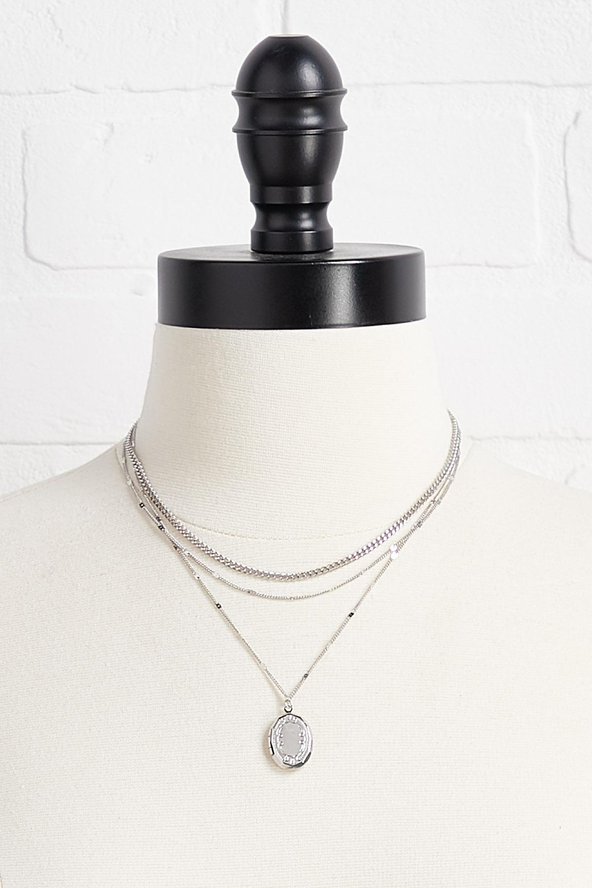 Chain Locket Necklace