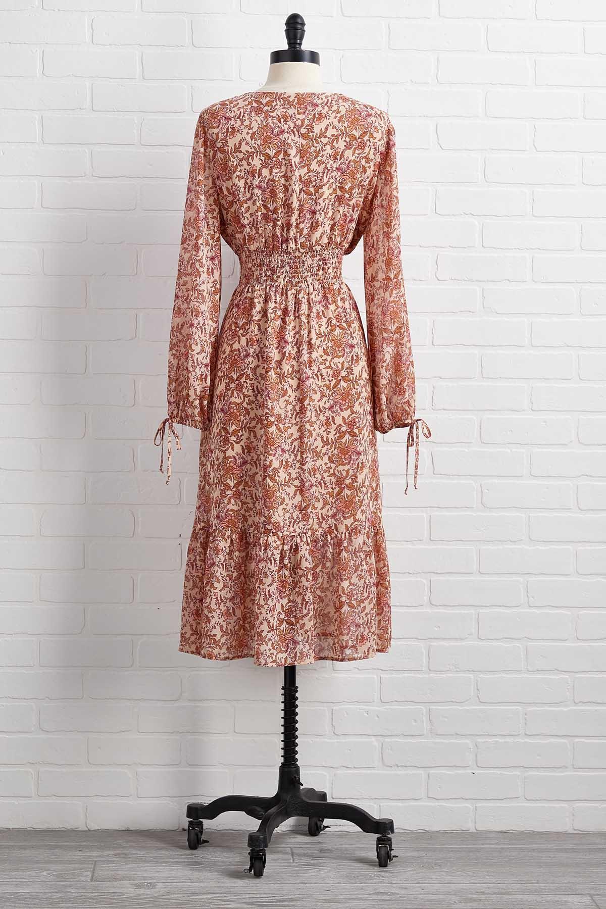 Secret Garden Maxi Dress