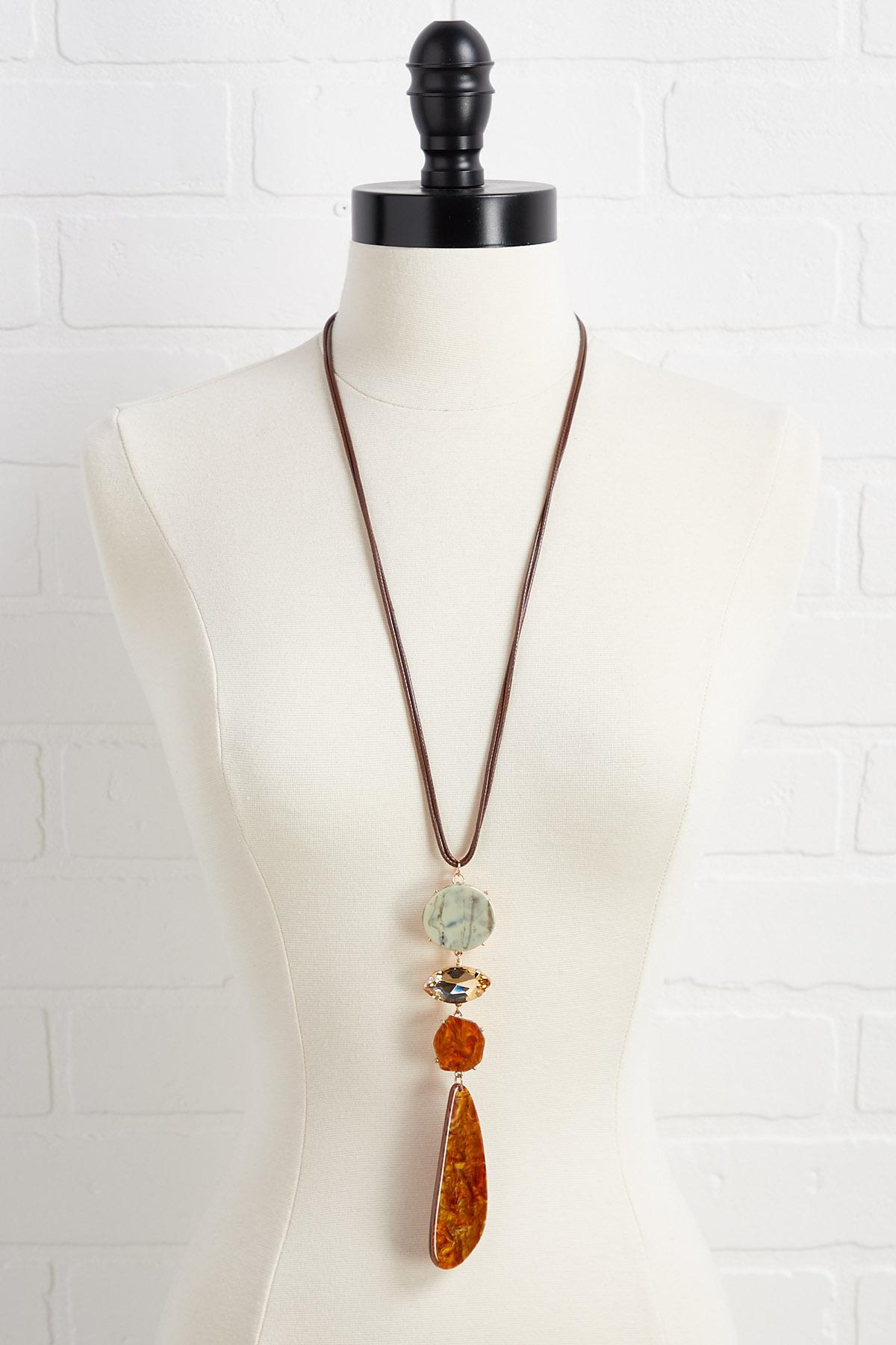 Natural Glam Necklace