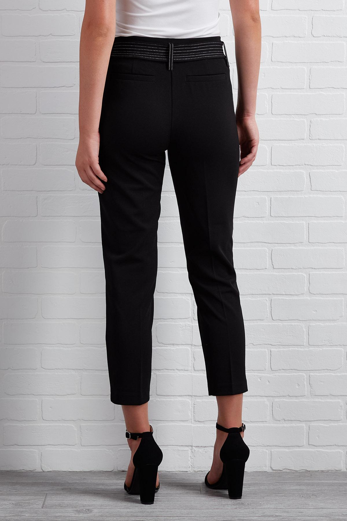 Crop It Like It's Hot Trouser Pants