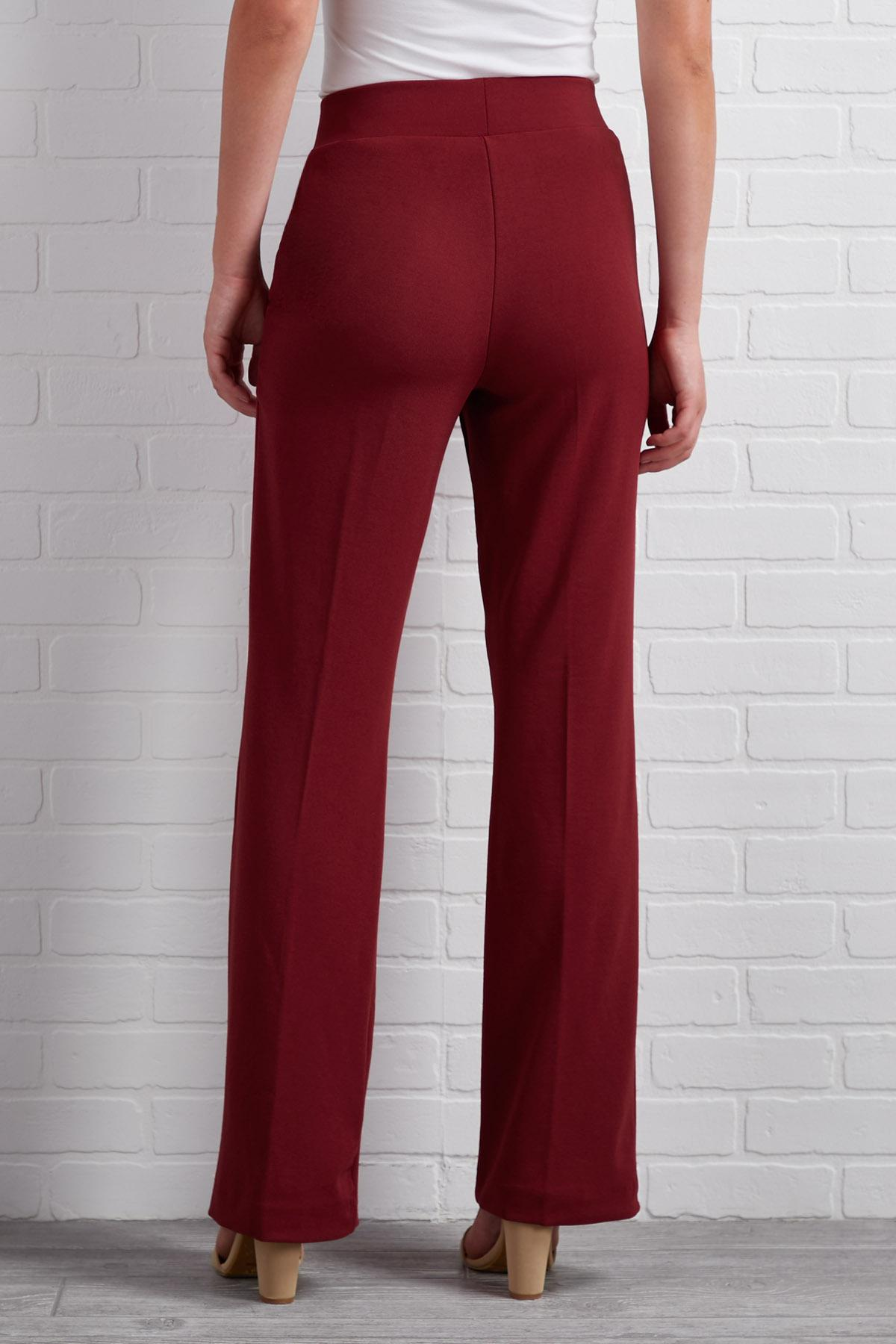 Seeing Red Wide Leg Pants