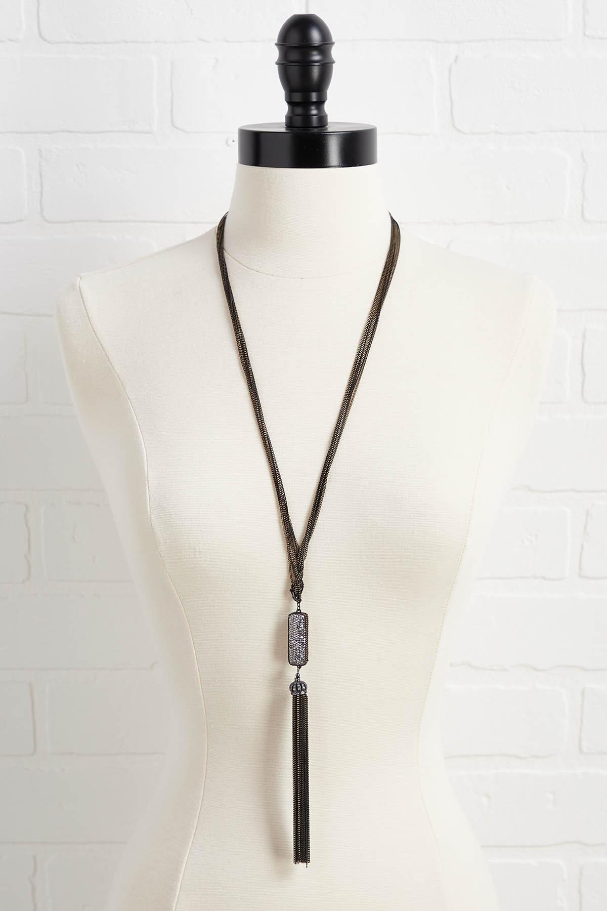 Glam Metal Necklace