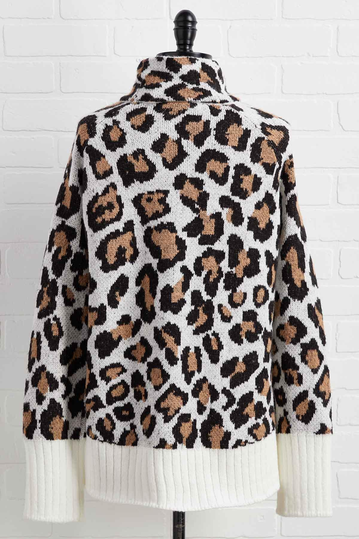 Wild Out There Sweater