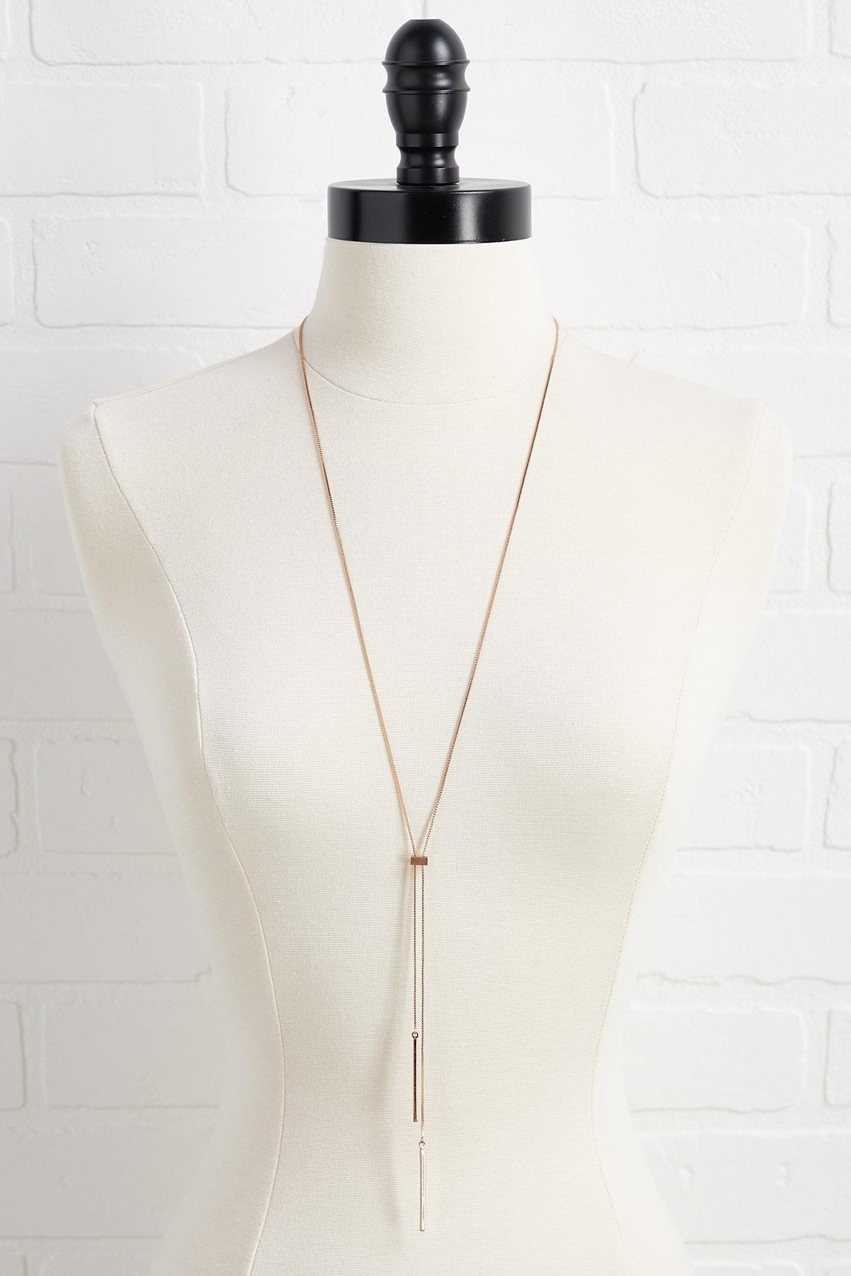 Metal Threader Necklace