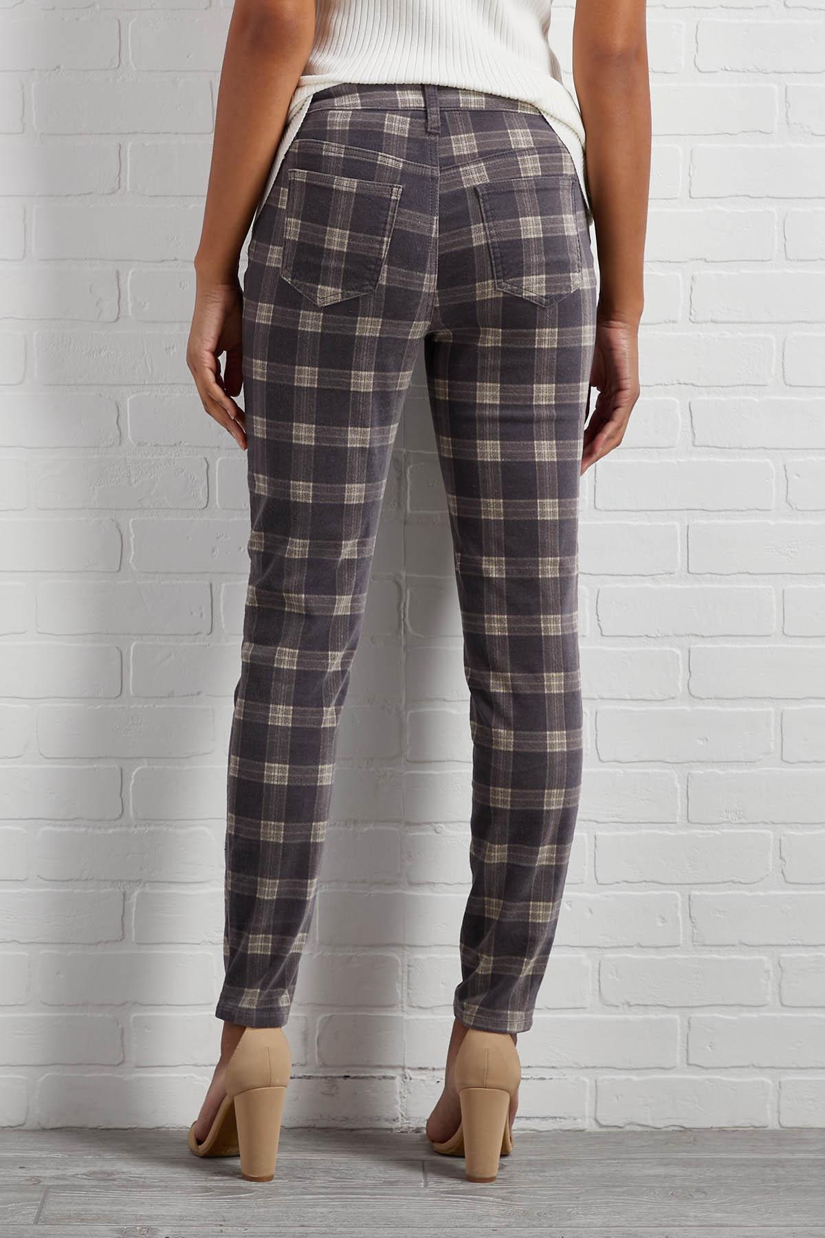 So Very Plaid Pants