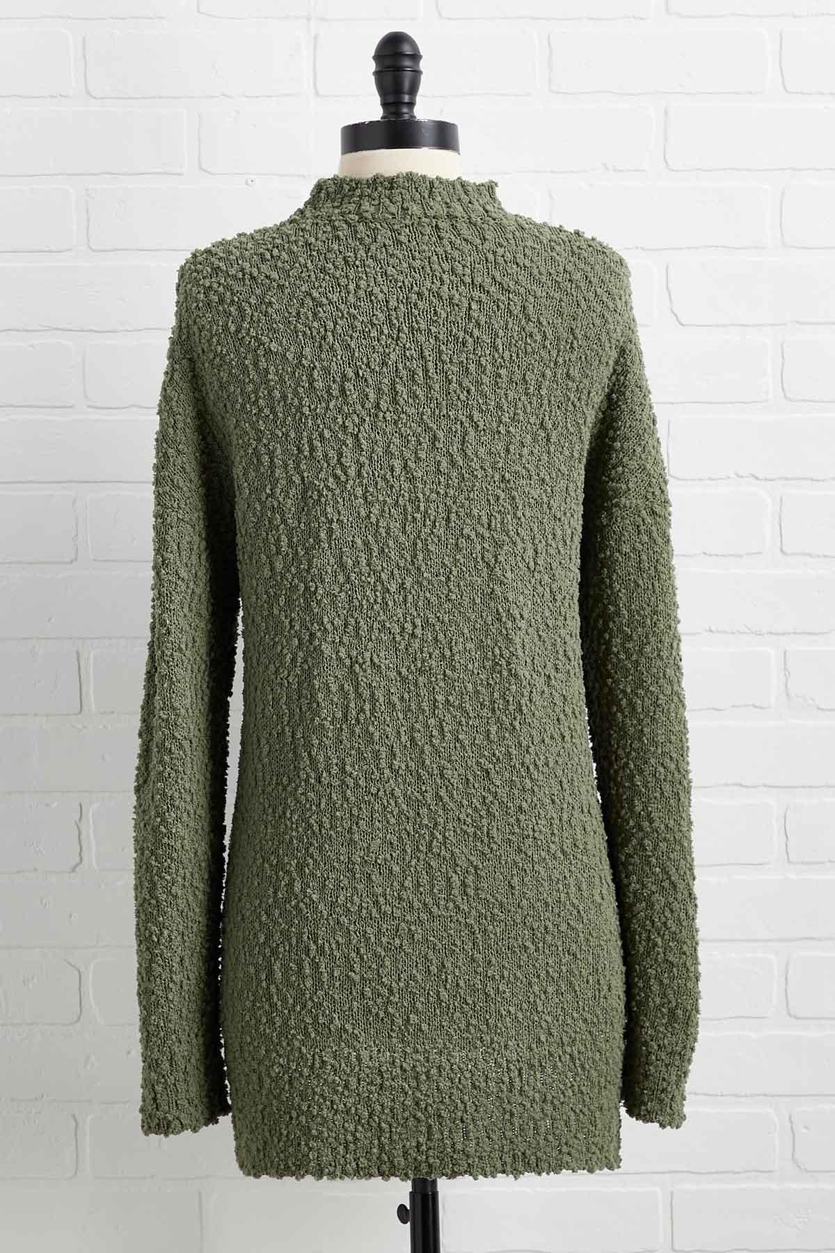 It's A Moss Up Sweater