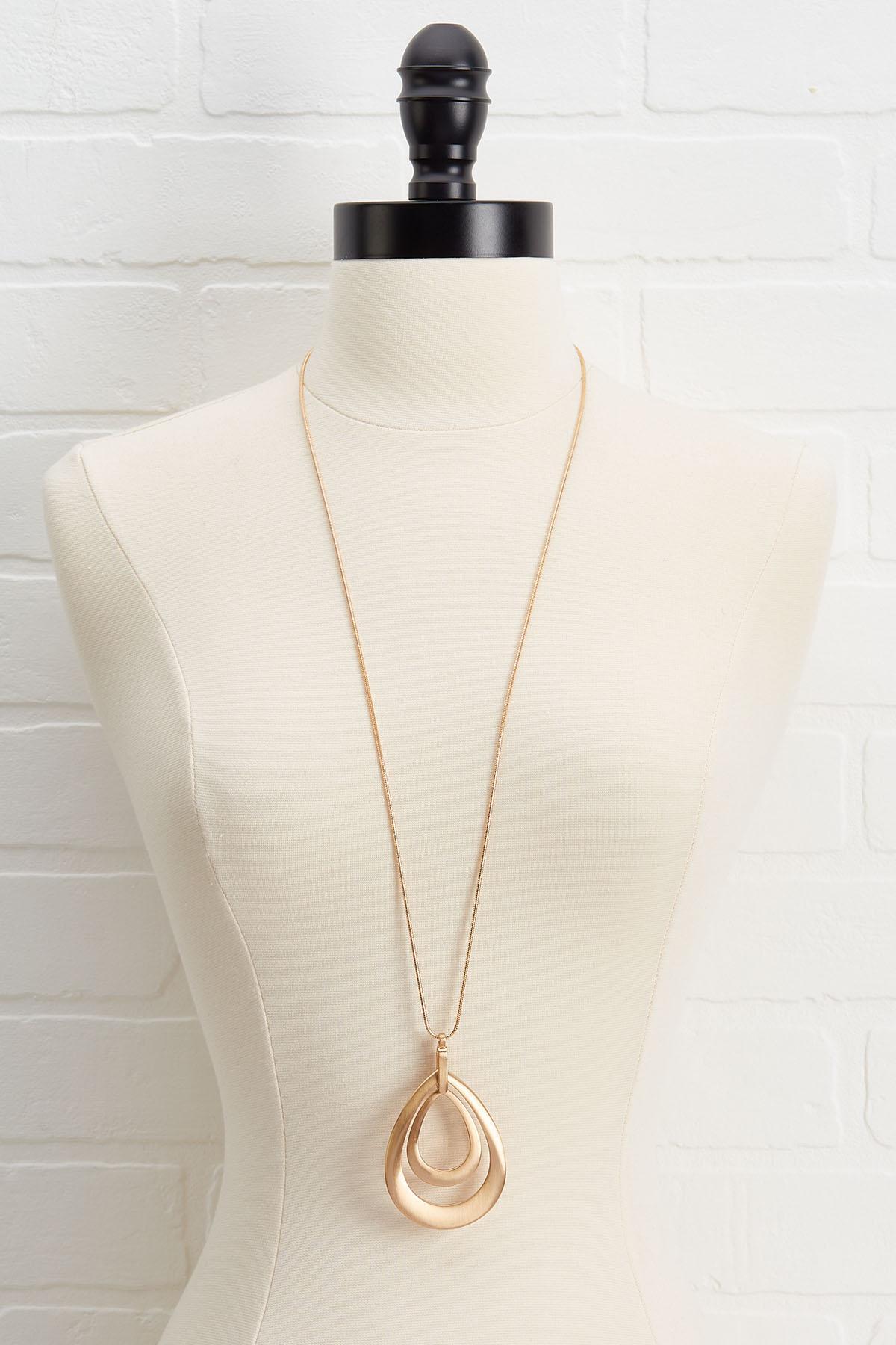 Orbit Pendant Necklace