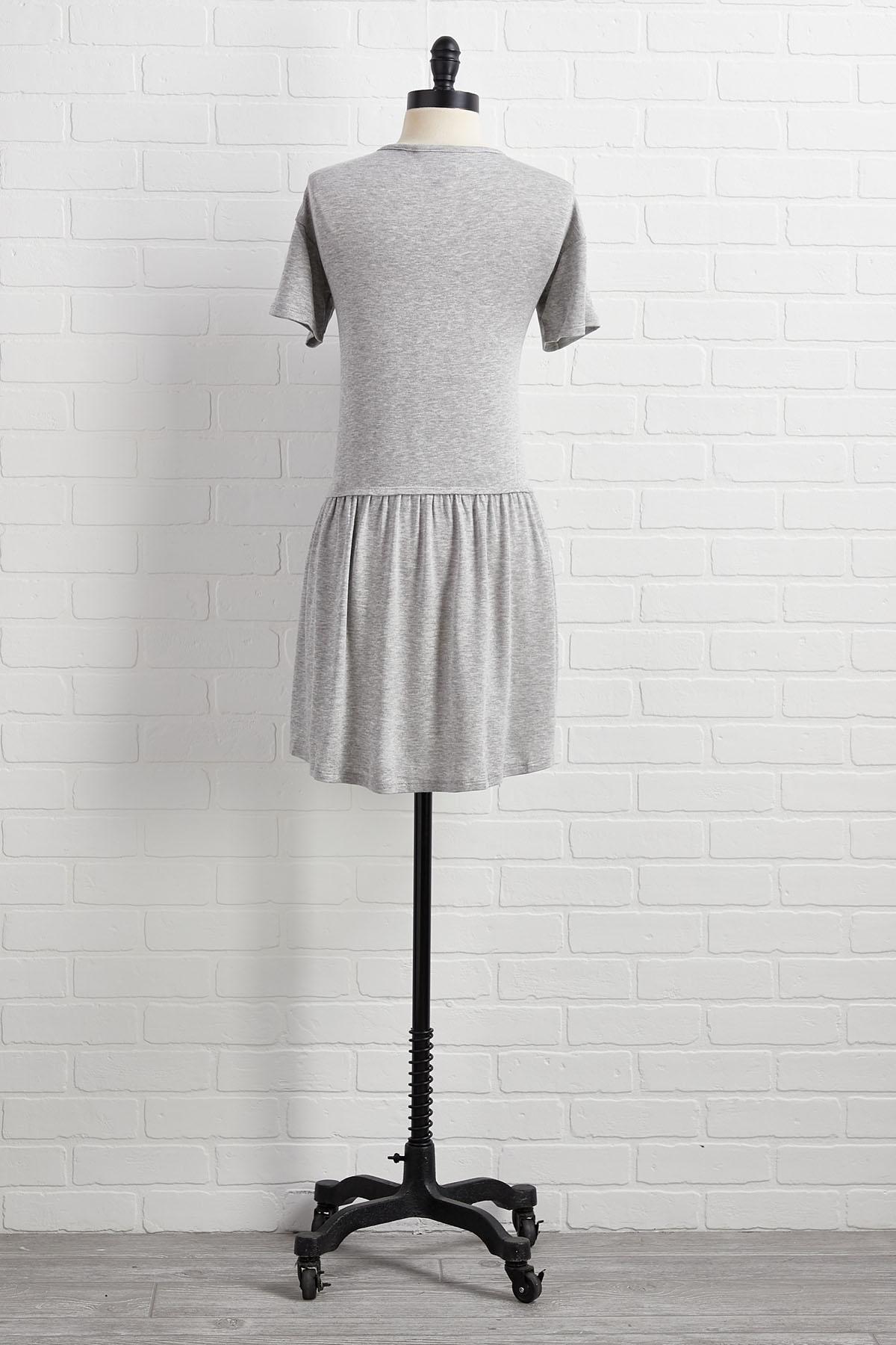 Stop Drop Waist And Roll Dress