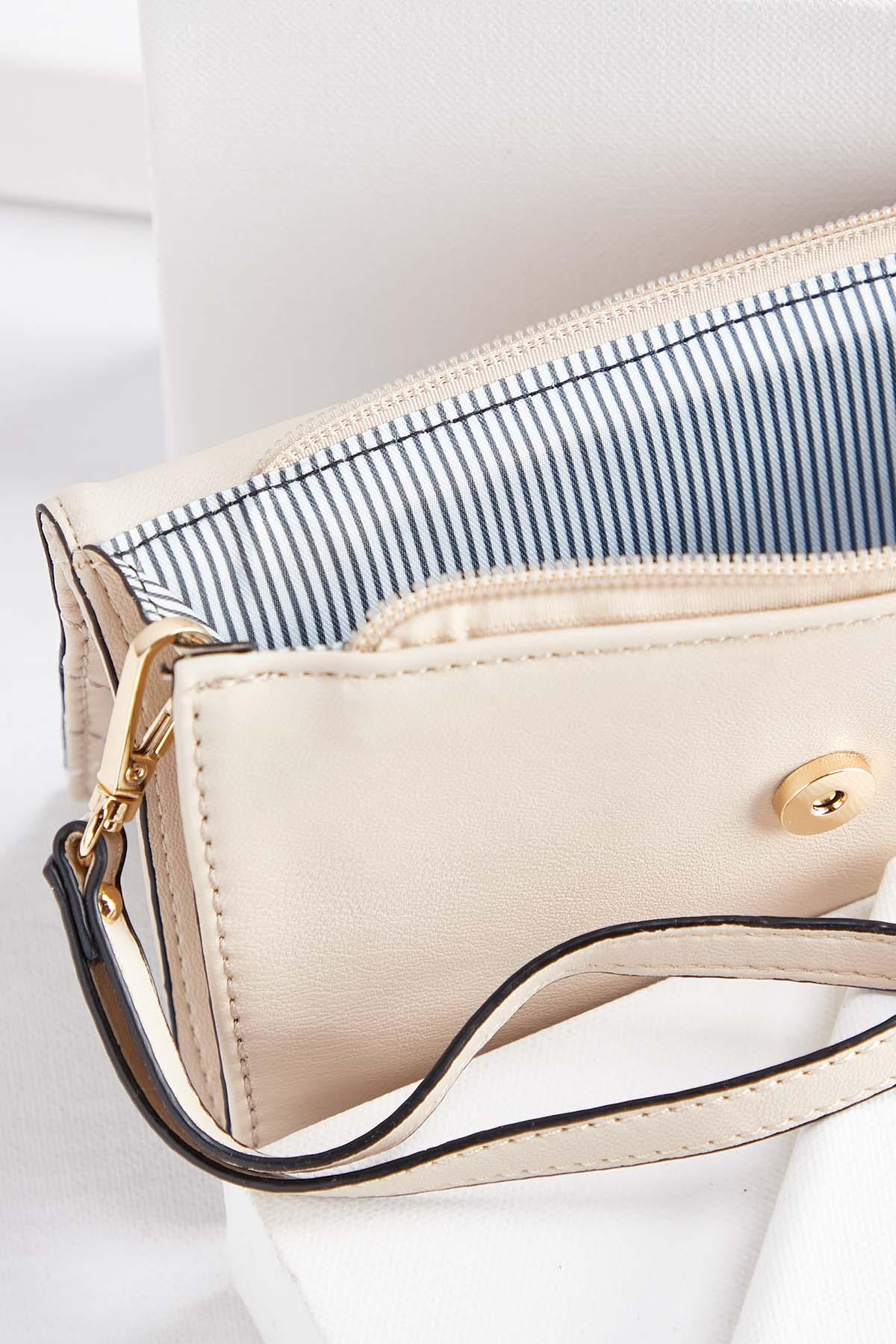 Pleated Detail Tote Set