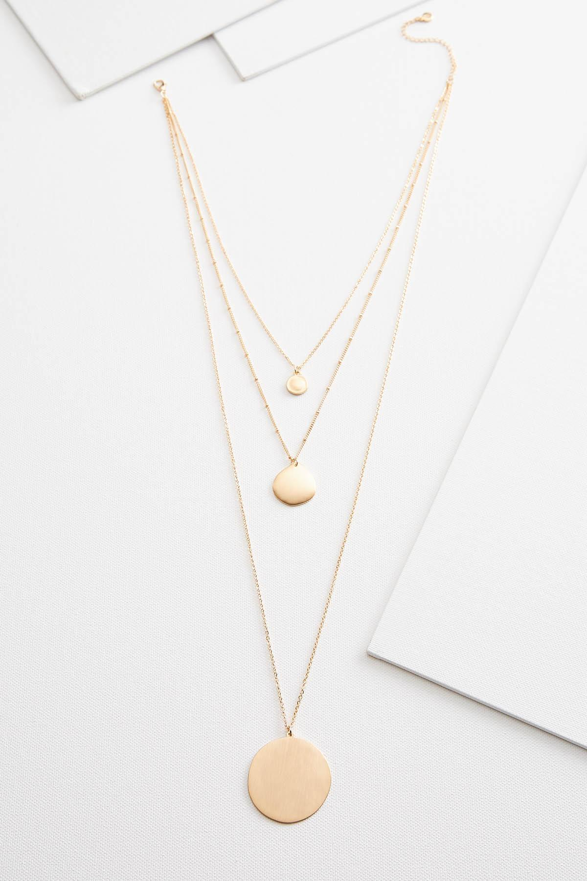 Pendant Necklace Trio
