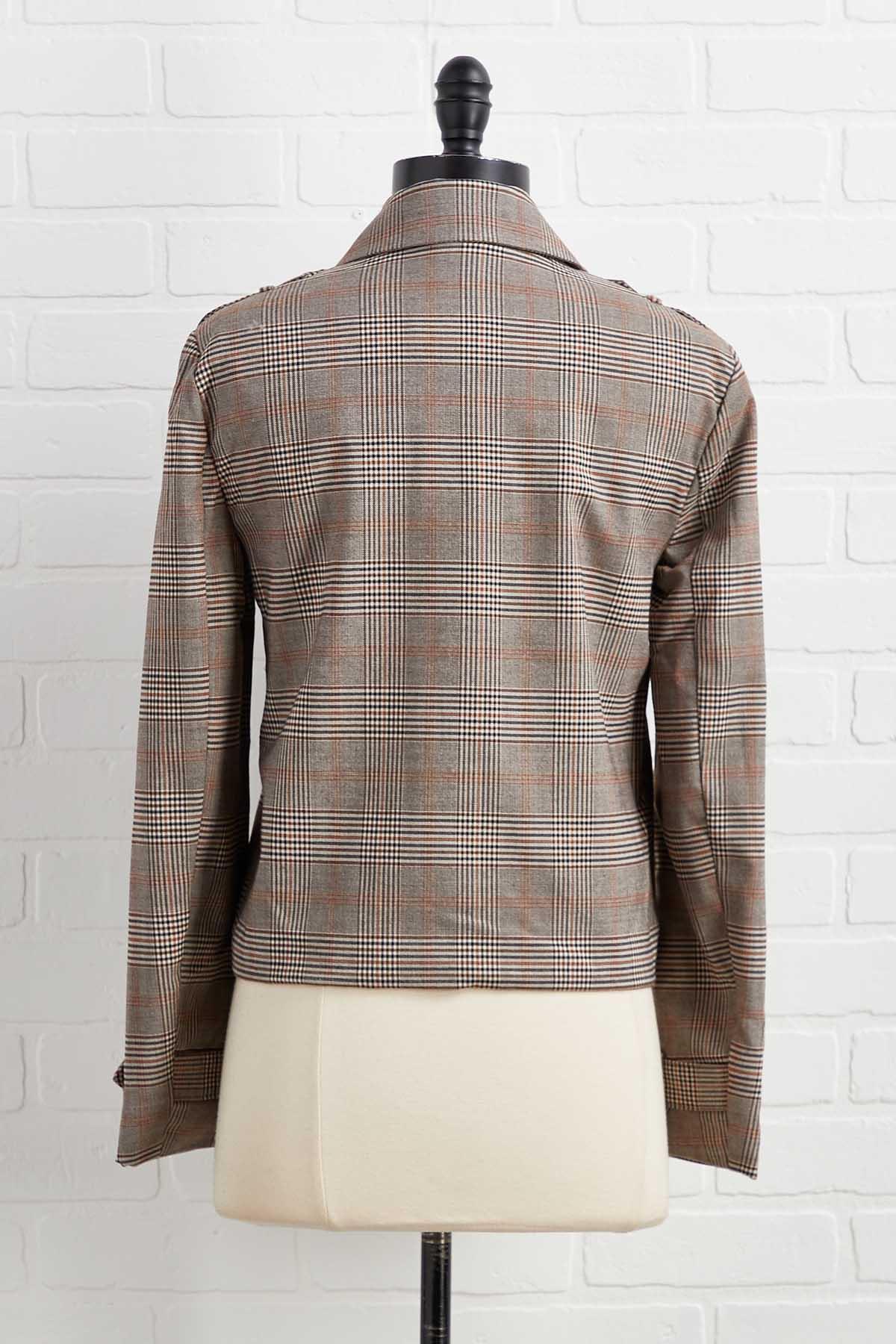 Our Favorite Checks Mix Jacket
