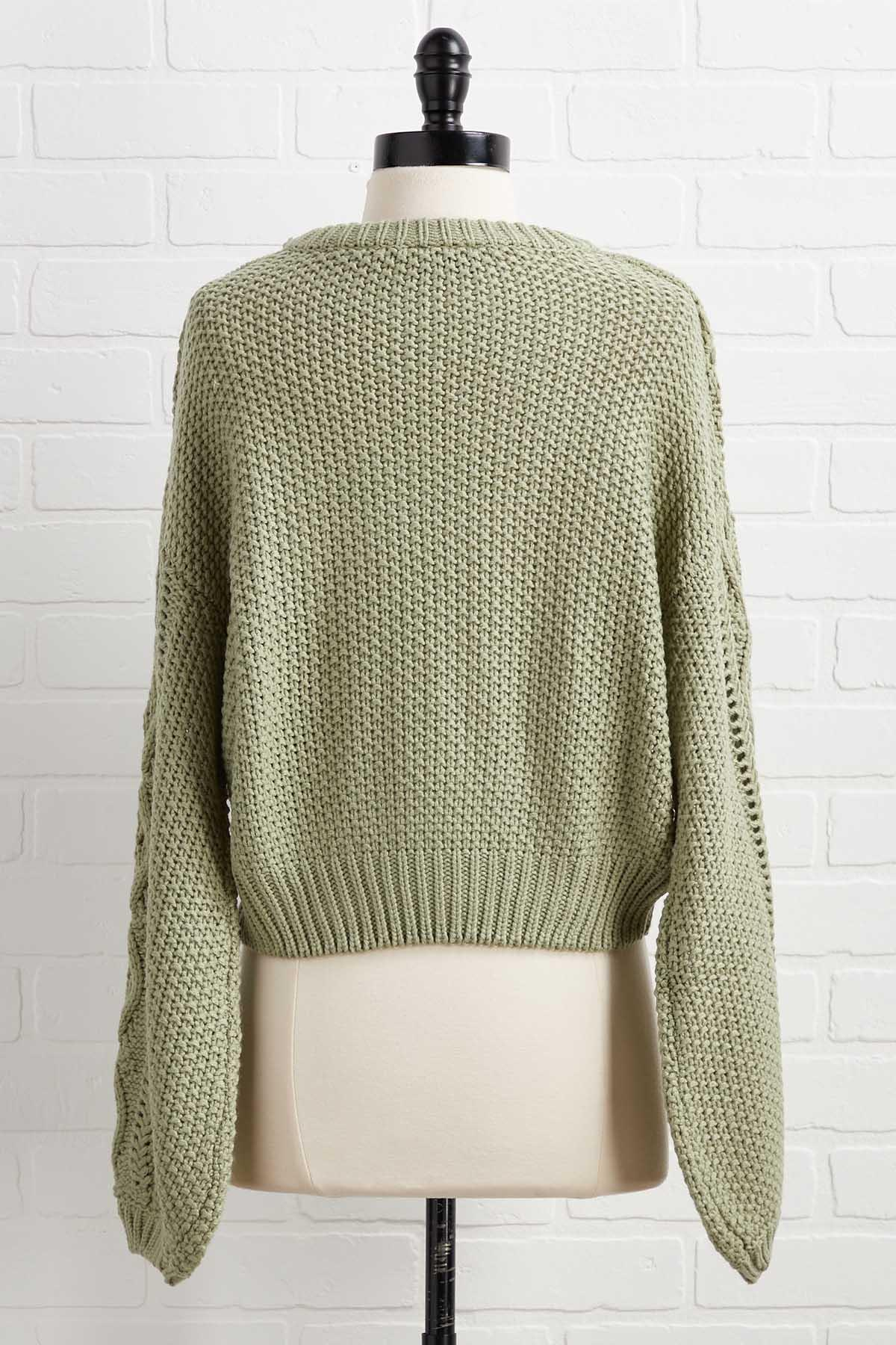 Moss Ask You A Question Sweater