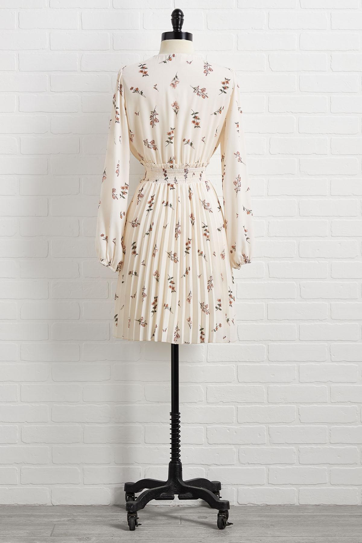 Say Pleats Dress