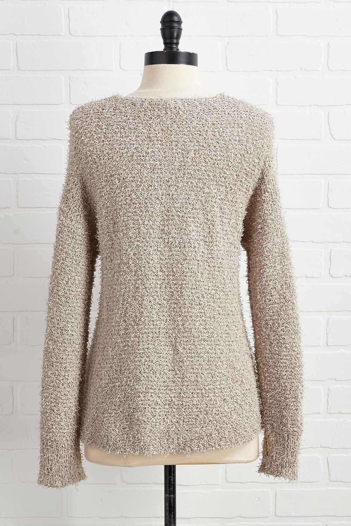 Feeling Neutral About It Sweater