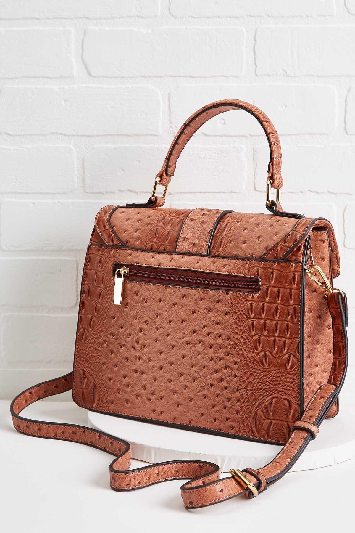 Ostrich Envelope Bag